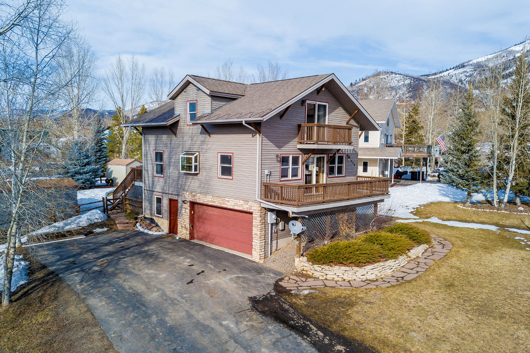 Single Family Home for Sale at 1550 Red Hawk Ct Easy Access to the Steamboat Springs Ski Area Steamboat Springs, Colorado, 80487 United States