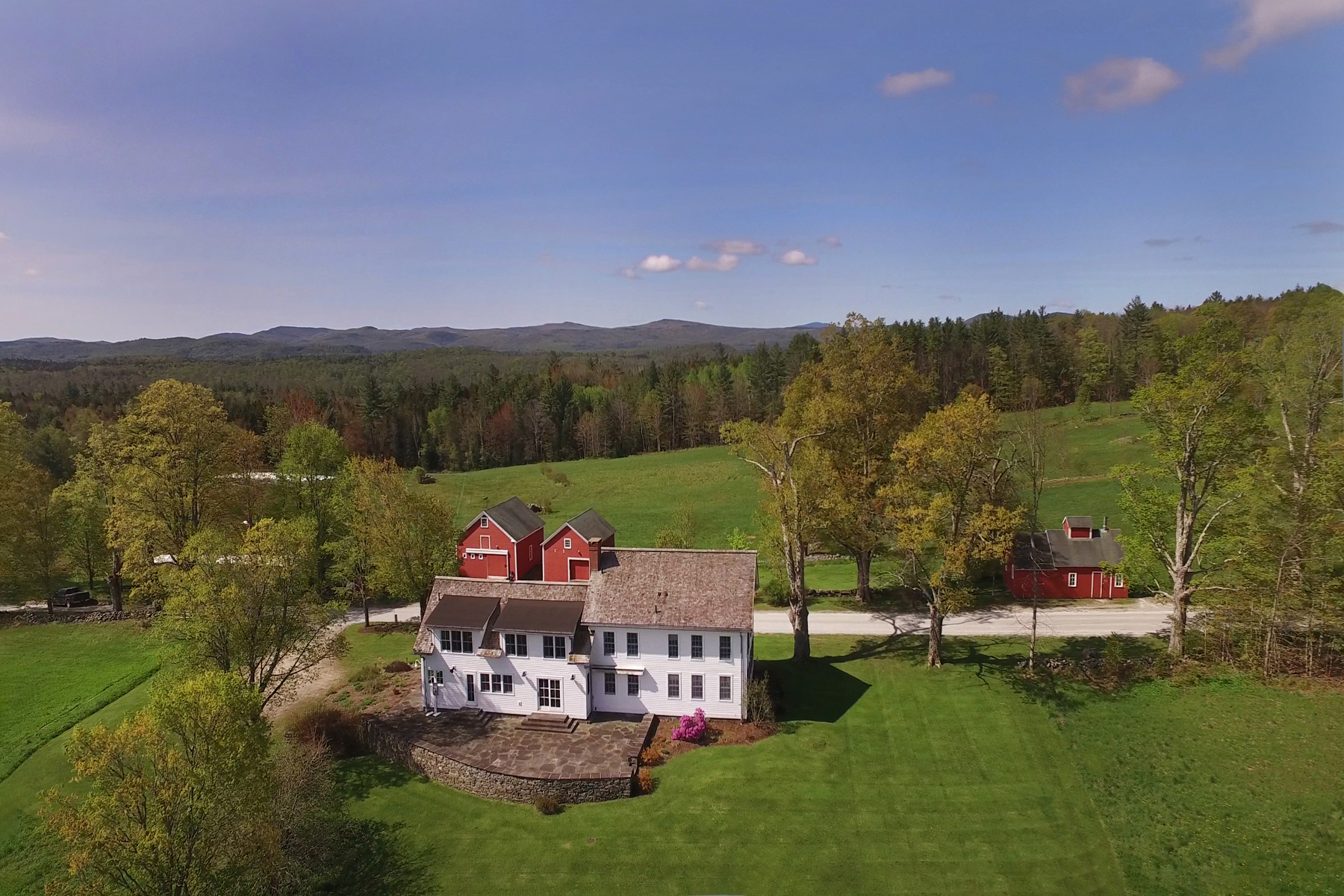 Single Family Homes for Sale at Elegant Vermont Farmhouse, 361 Acres, Barn 1783 Russellville Road Shrewsbury, Vermont 05738 United States