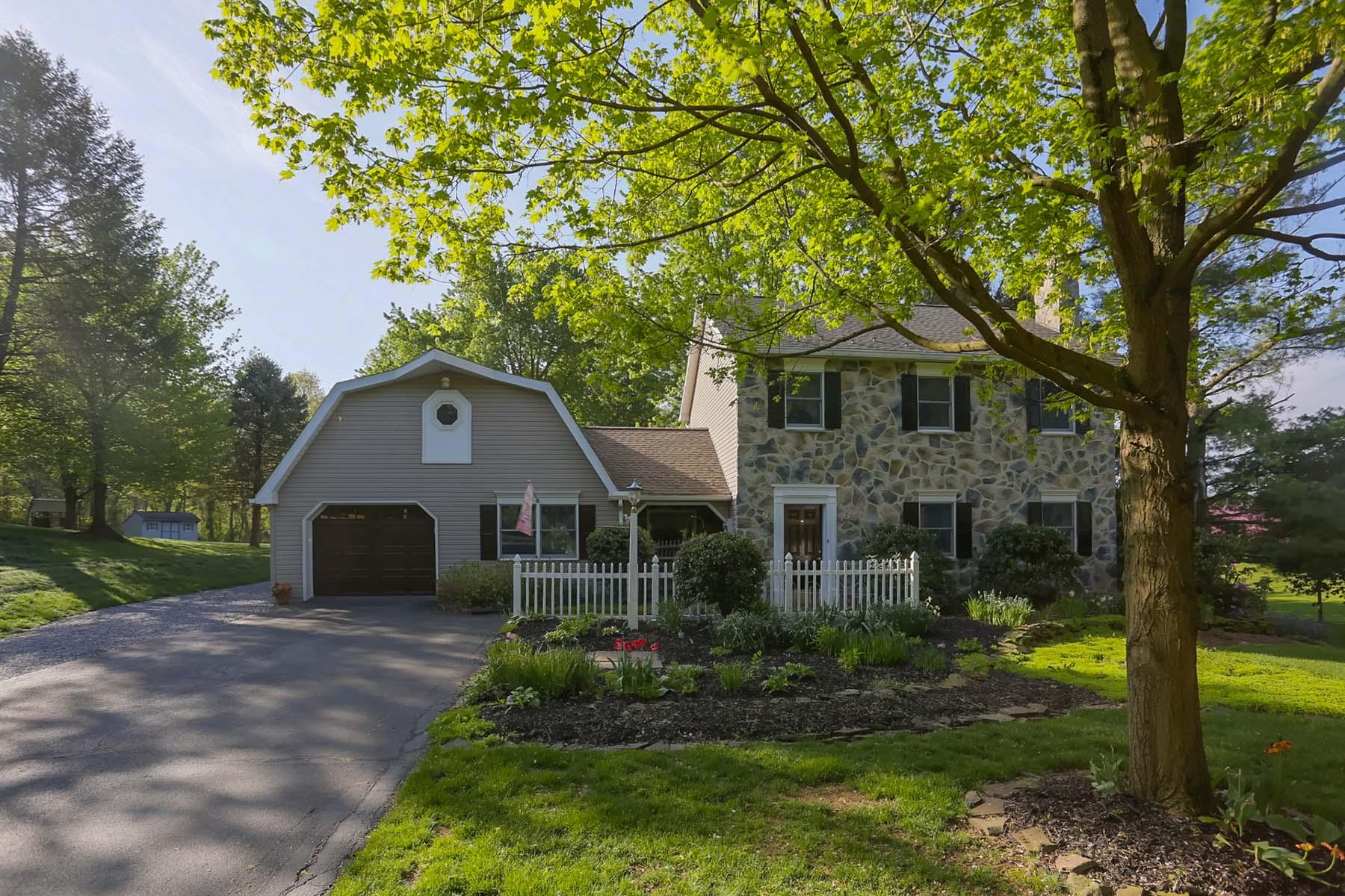 Частный односемейный дом для того Продажа на 641 Bedington Circle Manheim, Пенсильвания 17545 Соединенные Штаты
