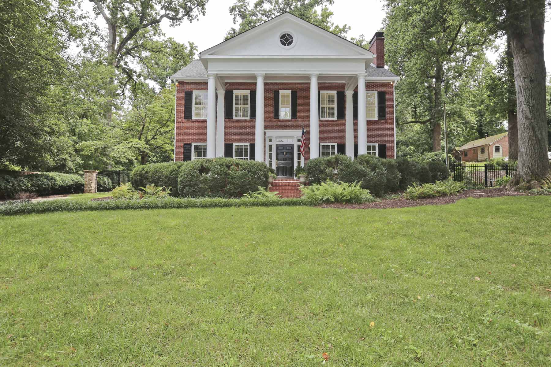 Single Family Home for Sale at Historic Georgian Masterpiece in Druid Hills 2115 Ponce de Leon Avenue NE Druid Hills, Atlanta, Georgia, 30307 United States