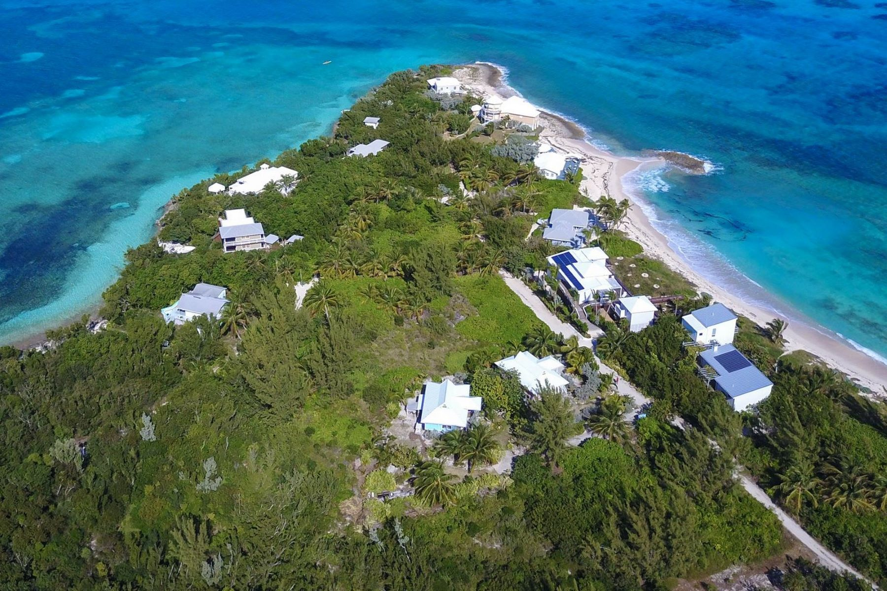土地,用地 为 销售 在 Beachside Elbow Cay Hope Town, 阿巴科, 巴哈马