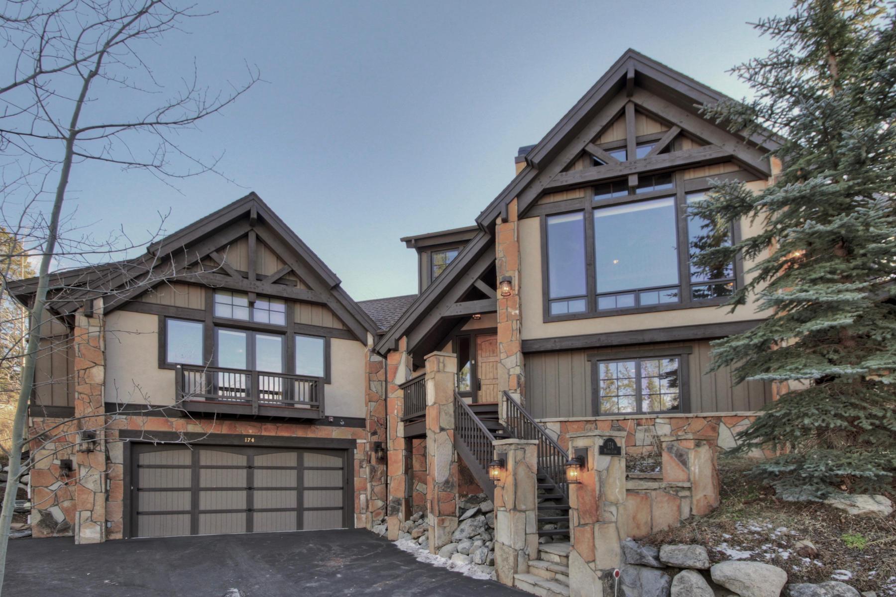 Casa para uma família para Venda às Elegant Mountain Retreat Minutes to Breckenridge 174 Marks Lane, Breckenridge, Colorado, 80424 Estados Unidos