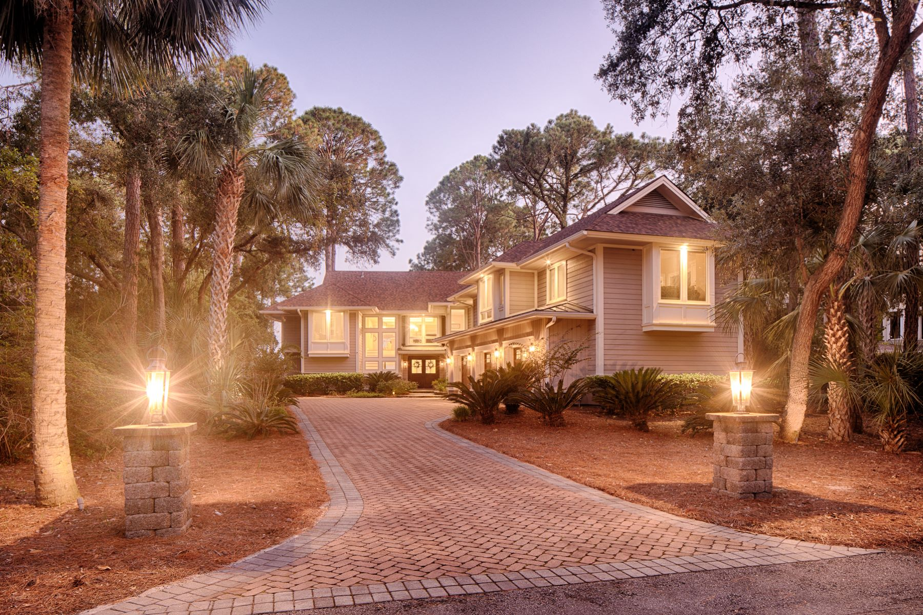 Single Family Homes for Sale at 18 Bald Eagle Road Hilton Head Island, South Carolina 29928 United States