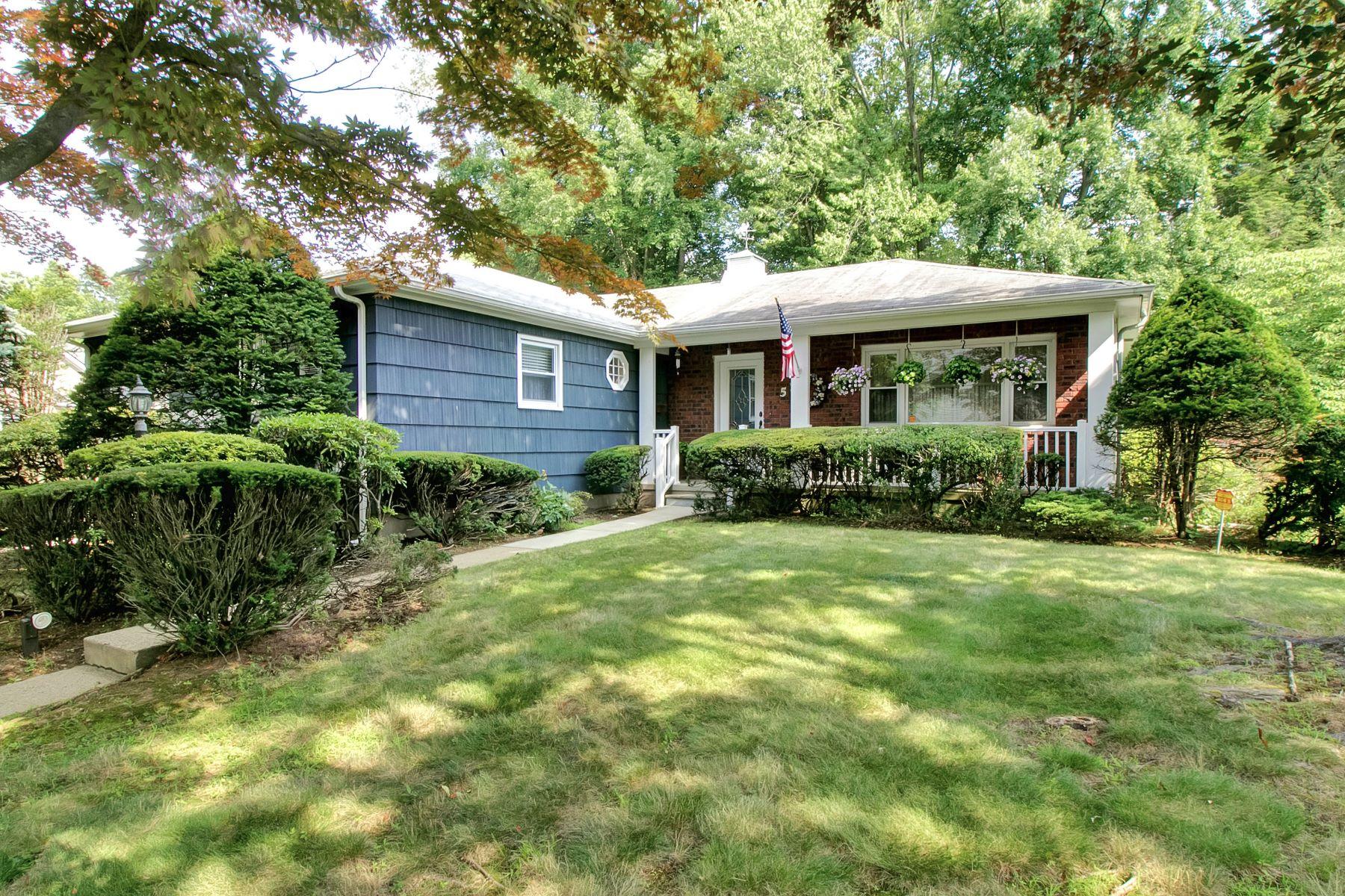 Частный односемейный дом для того Продажа на Ranch-Style Home 5 Blair Court, Tappan, Нью-Йорк, 10983 Соединенные Штаты