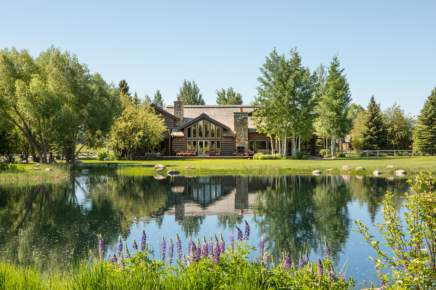 Single Family Homes للـ Sale في A Haven in Dairy Ranches 2575/2675 W Red House Road, Jackson, Wyoming 83001 United States