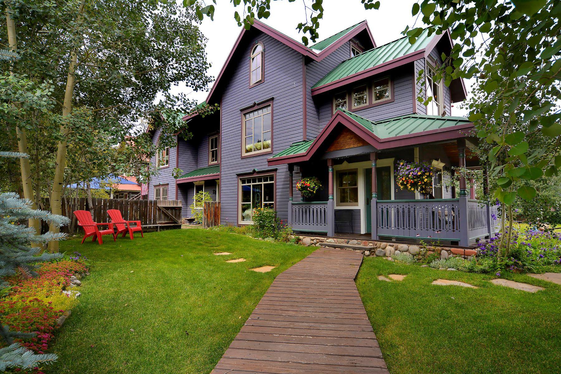 Maison unifamiliale pour l à vendre à 325 Gothic Avenue Crested Butte, Colorado, 81224 États-Unis