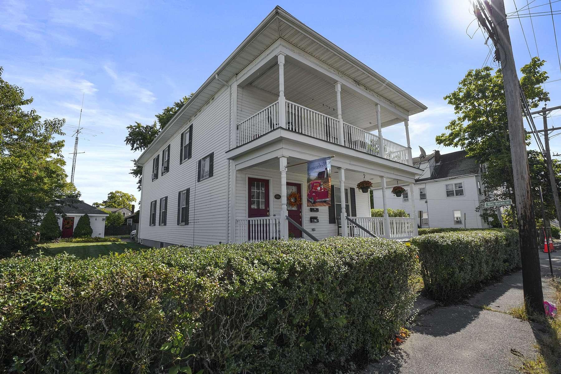 Multi-Family Homes 용 매매 에 405 Washington St, Taunton Taunton, 매사추세츠 02780 미국