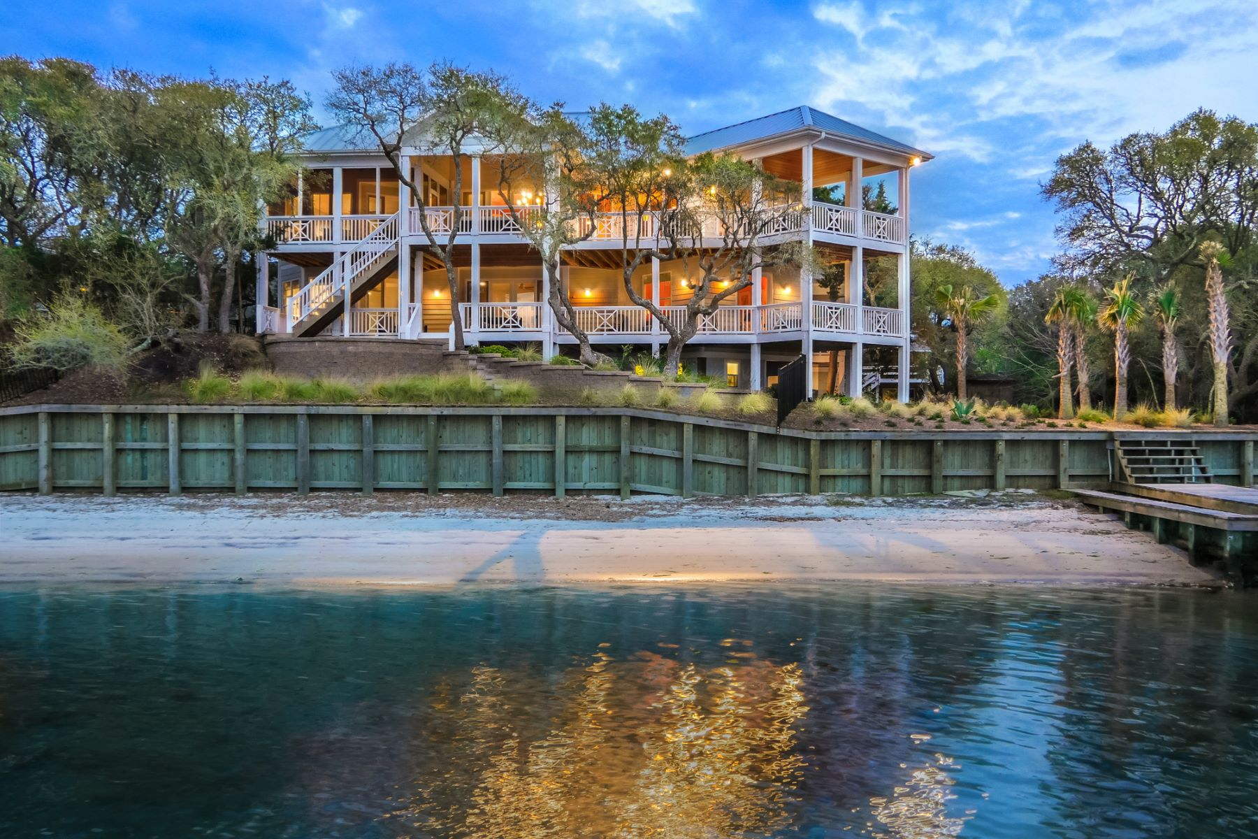 Single Family Home for Sale at Intriguing Island Estate 230 N Anderson Blvd Topsail Beach, North Carolina 28445 United States