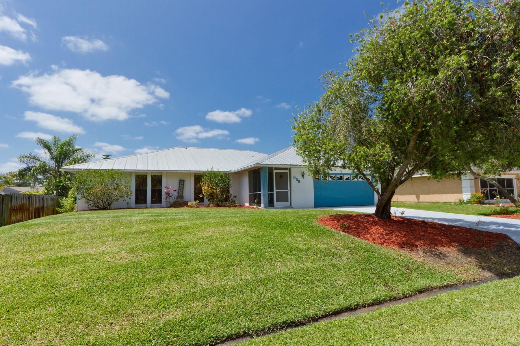 single family homes for Active at Newly Renovated St. Lucie Home 356 Husted Terrace Port St. Lucie, Florida 34983 United States