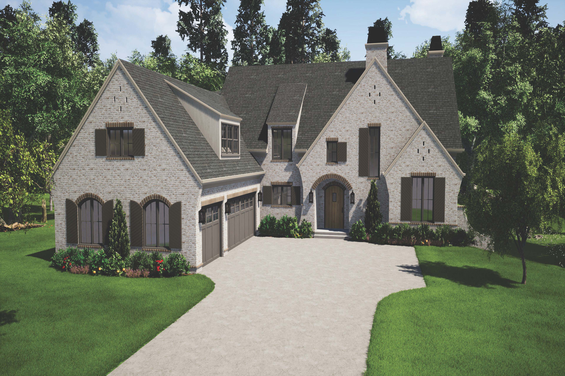 Single Family Homes for Active at The Manor Cottages 3585 Granton Street Alpharetta, Georgia 30004 United States