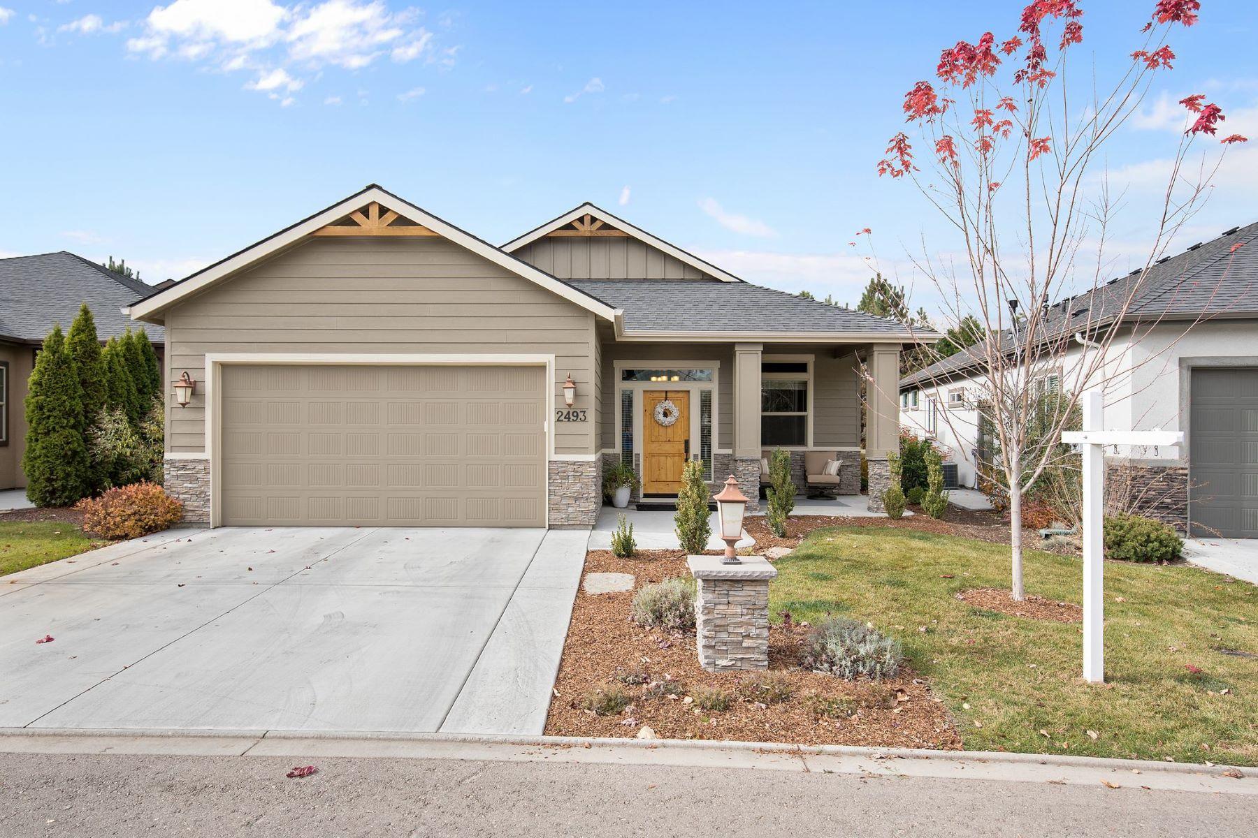 Tek Ailelik Ev için Satış at 2493 Creek Pointe Ln, Eagle 2493 S Creek Pointe Ln, Eagle, Idaho, 83616 Amerika Birleşik Devletleri