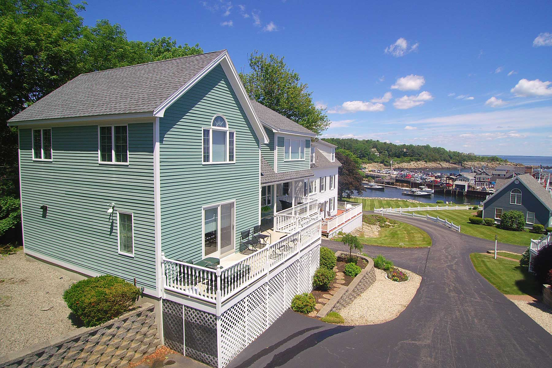 Single Family Home for Sale at Walk to Perkins Cove 47 Riverside Lane Ogunquit, Maine, 03907 United States