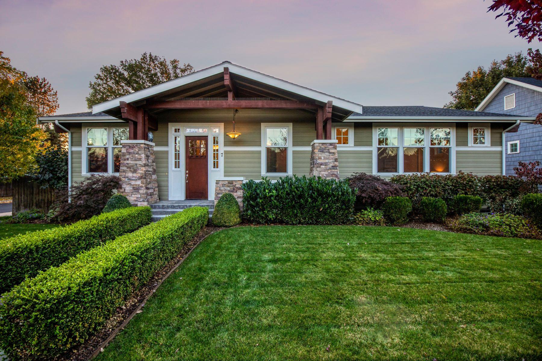 Single Family Homes for Sale at 7 Kensington Drive Walla Walla, Washington 99362 United States