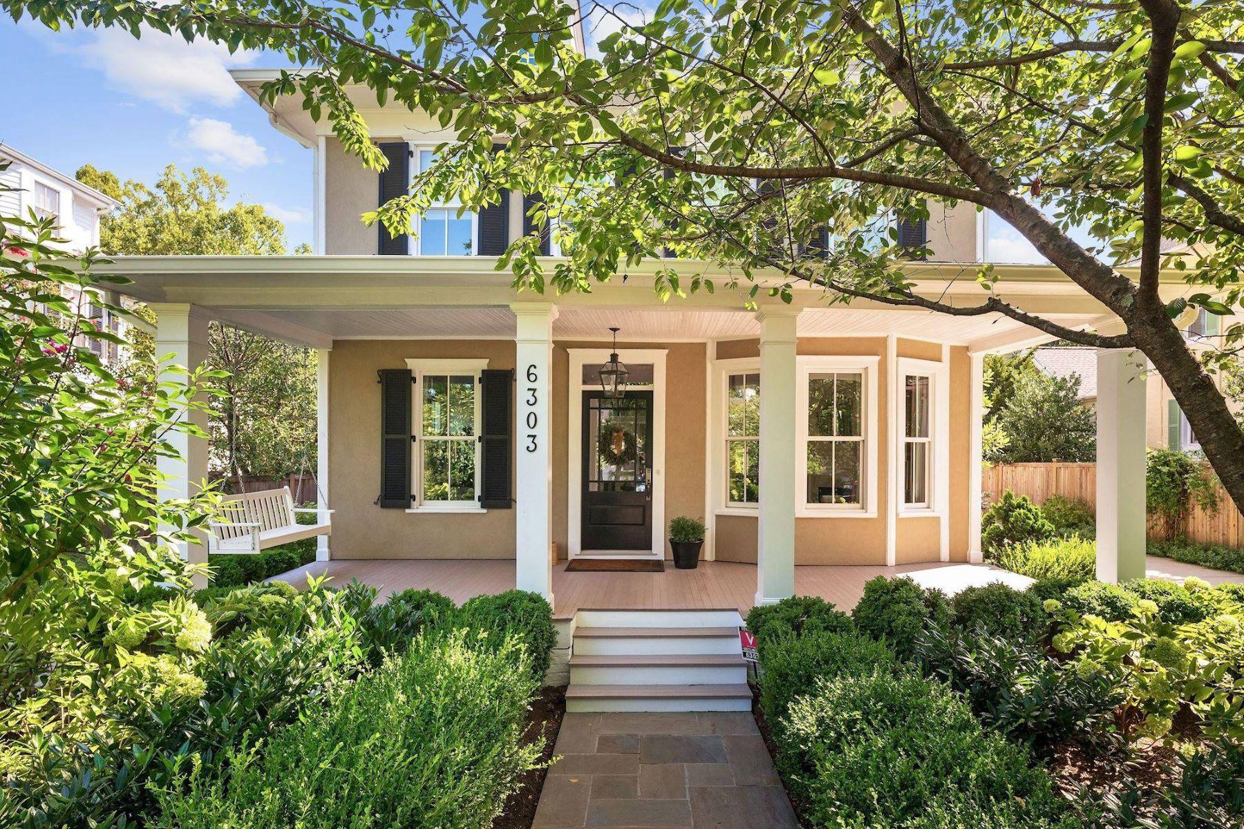 Single Family Homes 为 销售 在 6303 Broad Branch Rd 切维莱斯, 马里兰州 20815 美国