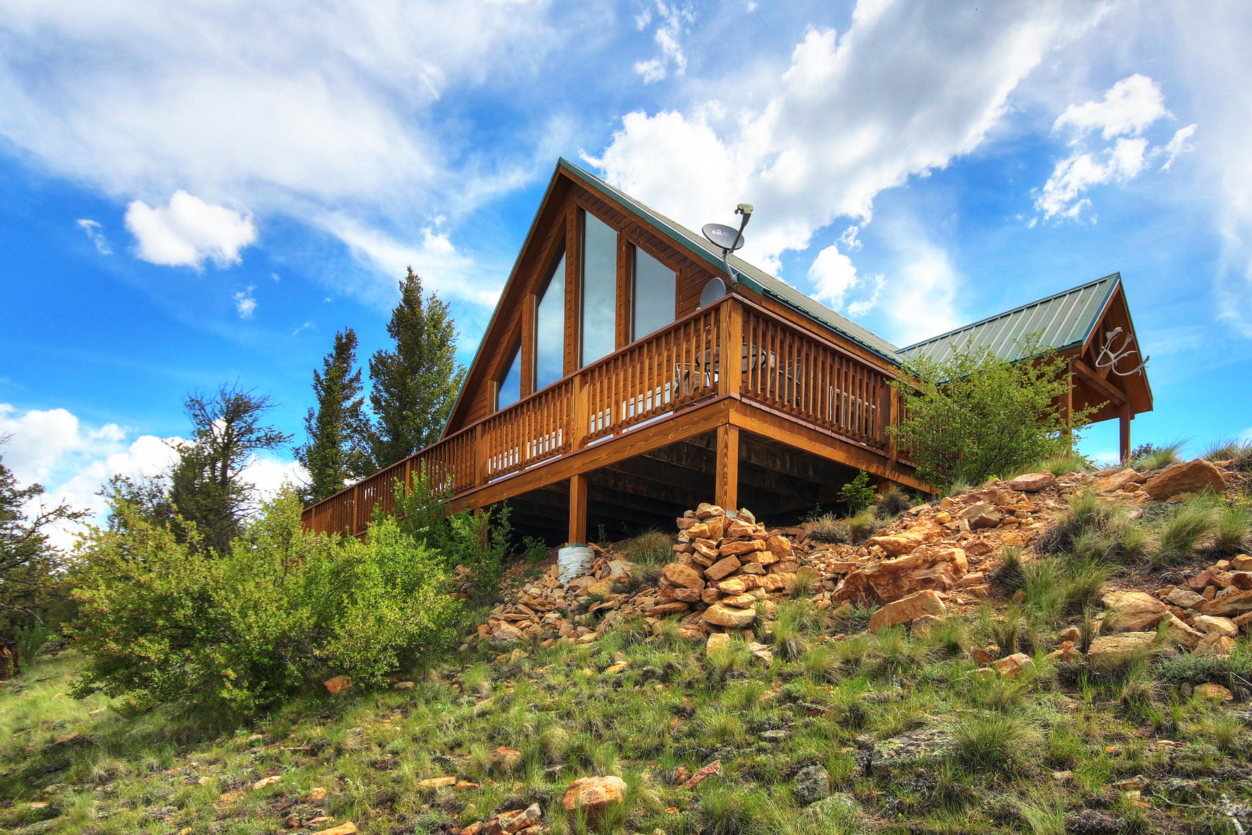 Single Family Homes for Sale at Sweeping Mountain Views 3997 Middle Fork Vista Fairplay, Colorado 80440 United States
