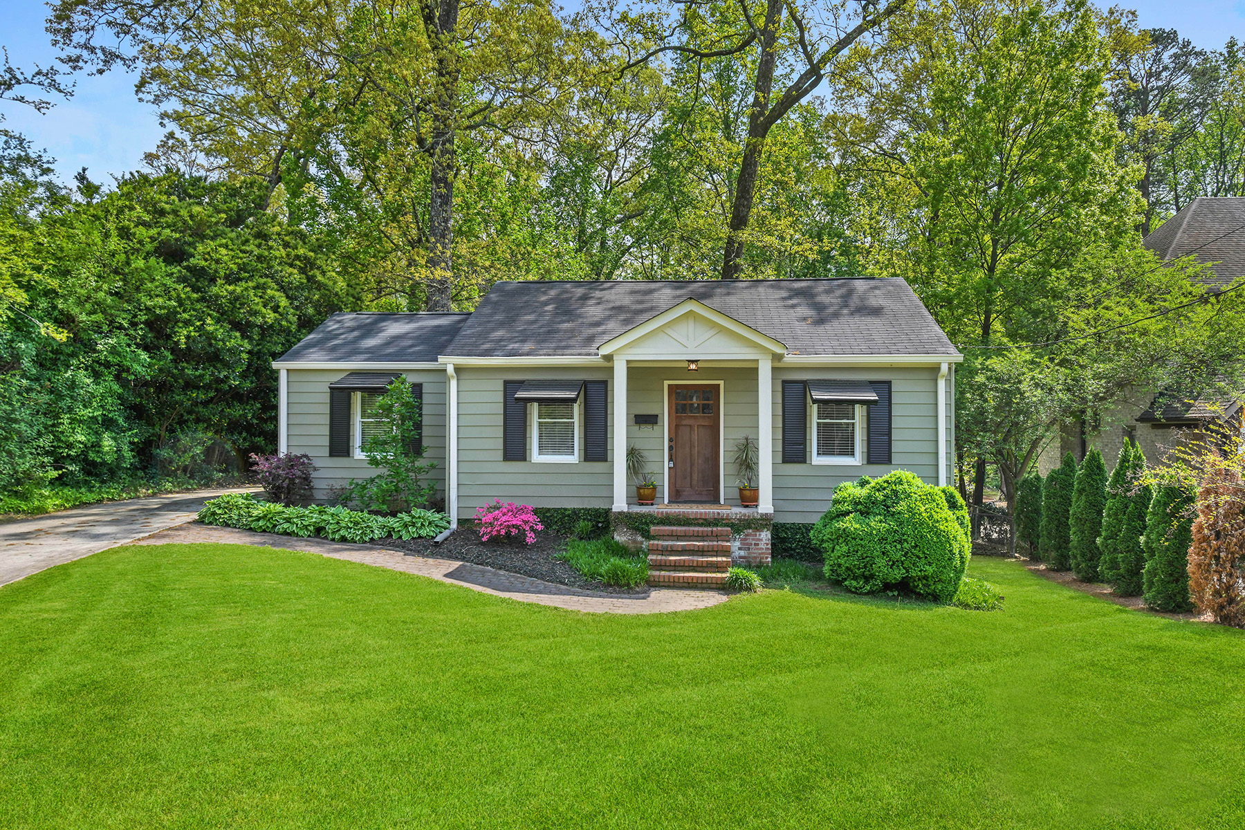 Single Family Homes for Sale at Charming Bungalow In Ashford Park Set On An Amazing Deep Level Fenced Lot 1851 9th Street Chamblee, Georgia 30341 United States