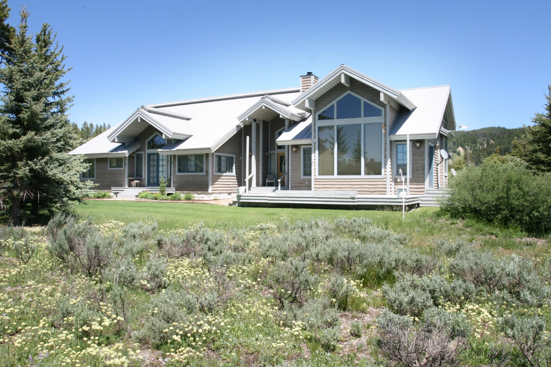Single Family Homes 용 매매 에 Live in Grand Teton National Park 27370 N WHETSTONE ROAD, Moran, 와이오밍 83013 미국