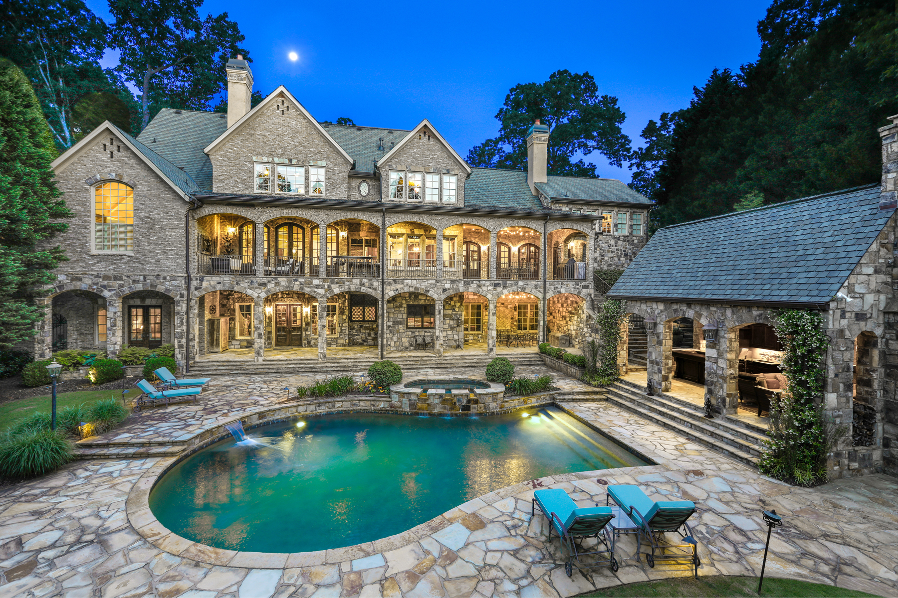 Single Family Homes for Active at Atlanta Country Club Masterpiece on the 15th Hole 250 Pine Valley Road SE Marietta, Georgia 30067 United States