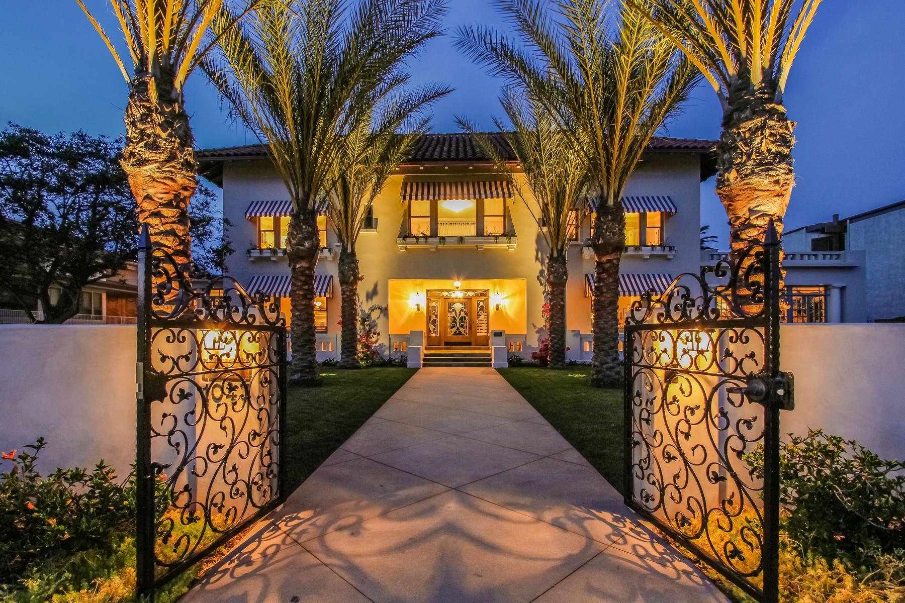 Single Family Homes por un Venta en 1043 Ocean Blvd Coronado, California 92118 Estados Unidos