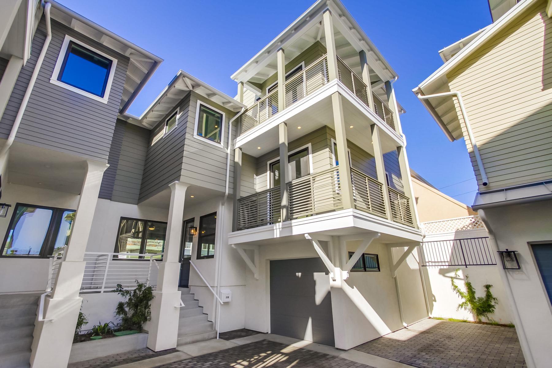Maison accolée pour l à vendre à 710 E Avenue Coronado, Californie, 92118 États-Unis