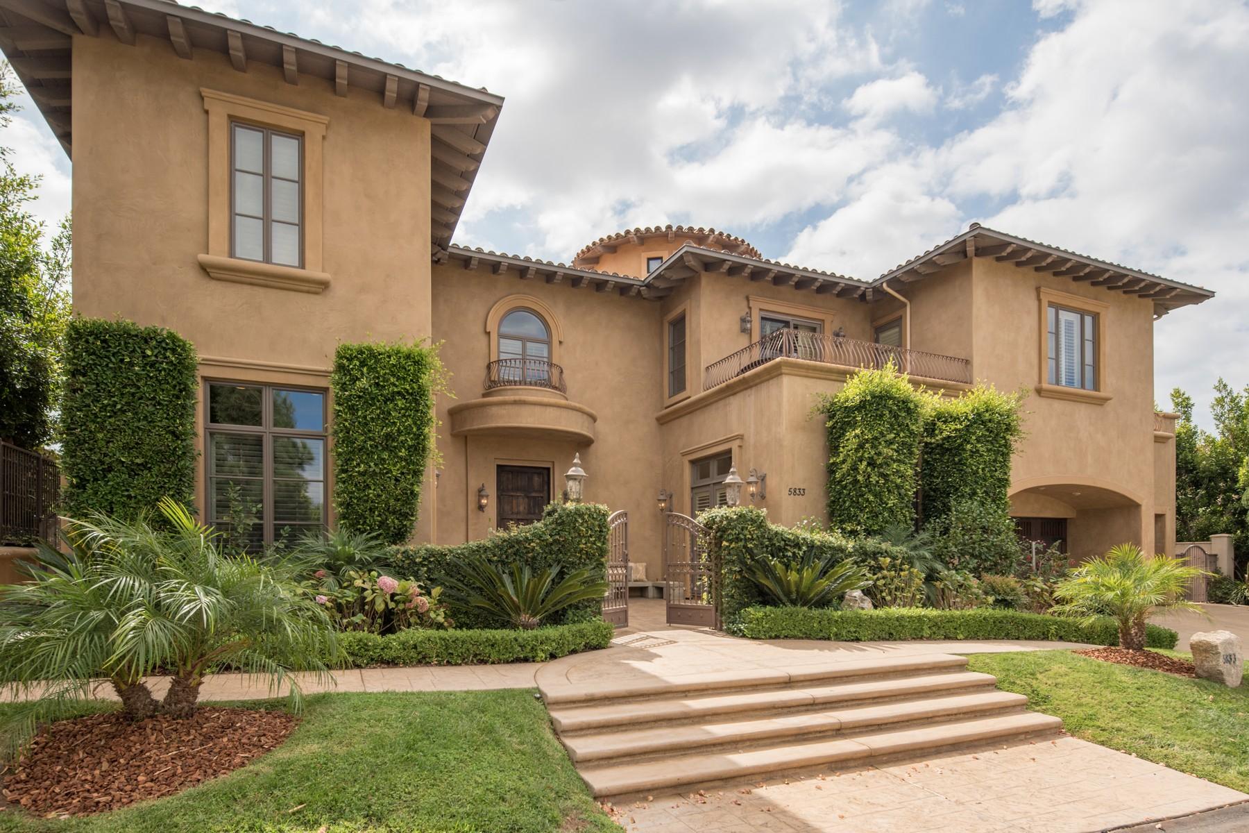 Частный односемейный дом для того Продажа на 5833 Meadows Del Mar San Diego, Калифорния, 92130 Соединенные Штаты