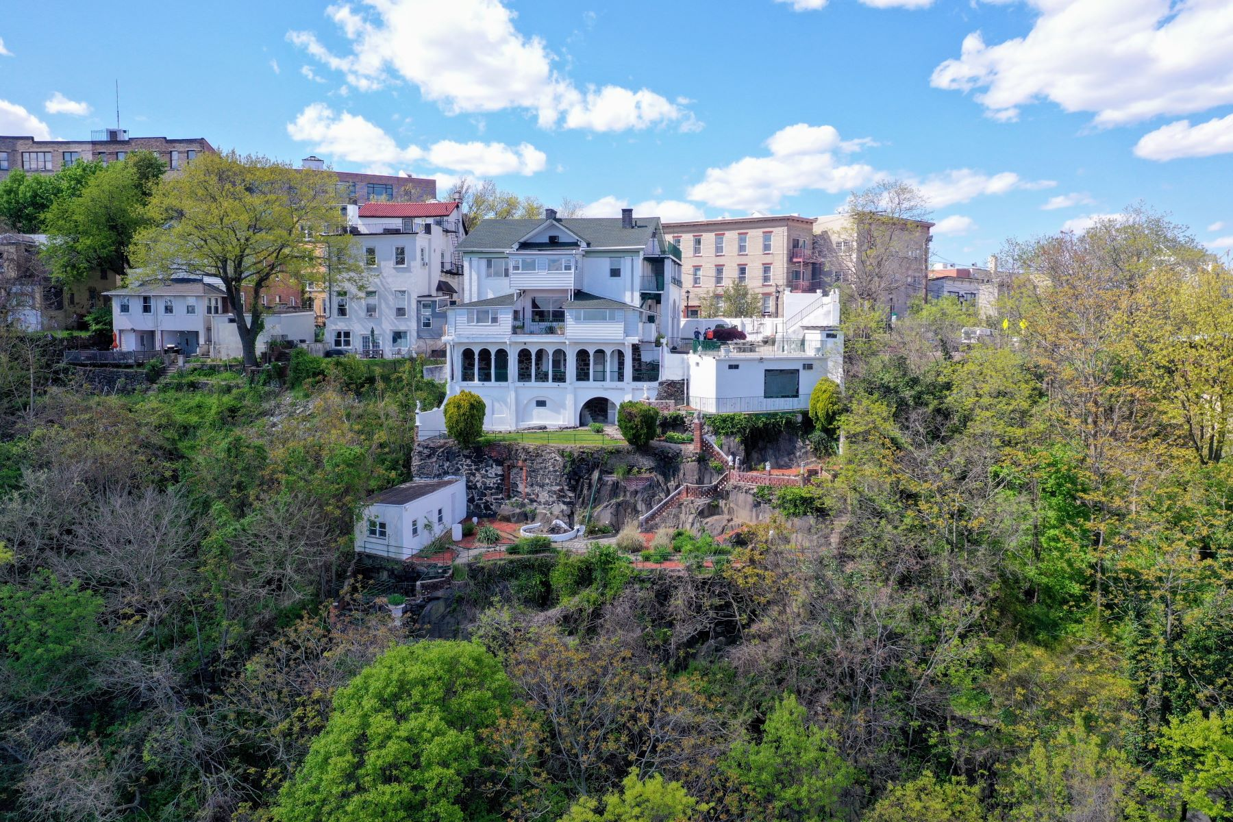 Other Residential Homes for Sale at Palace In The Sky! Views of New York City! Mansion with Beautiful Tuscany Design 320-324 Mountain Road, Union City, New Jersey 07087 United States