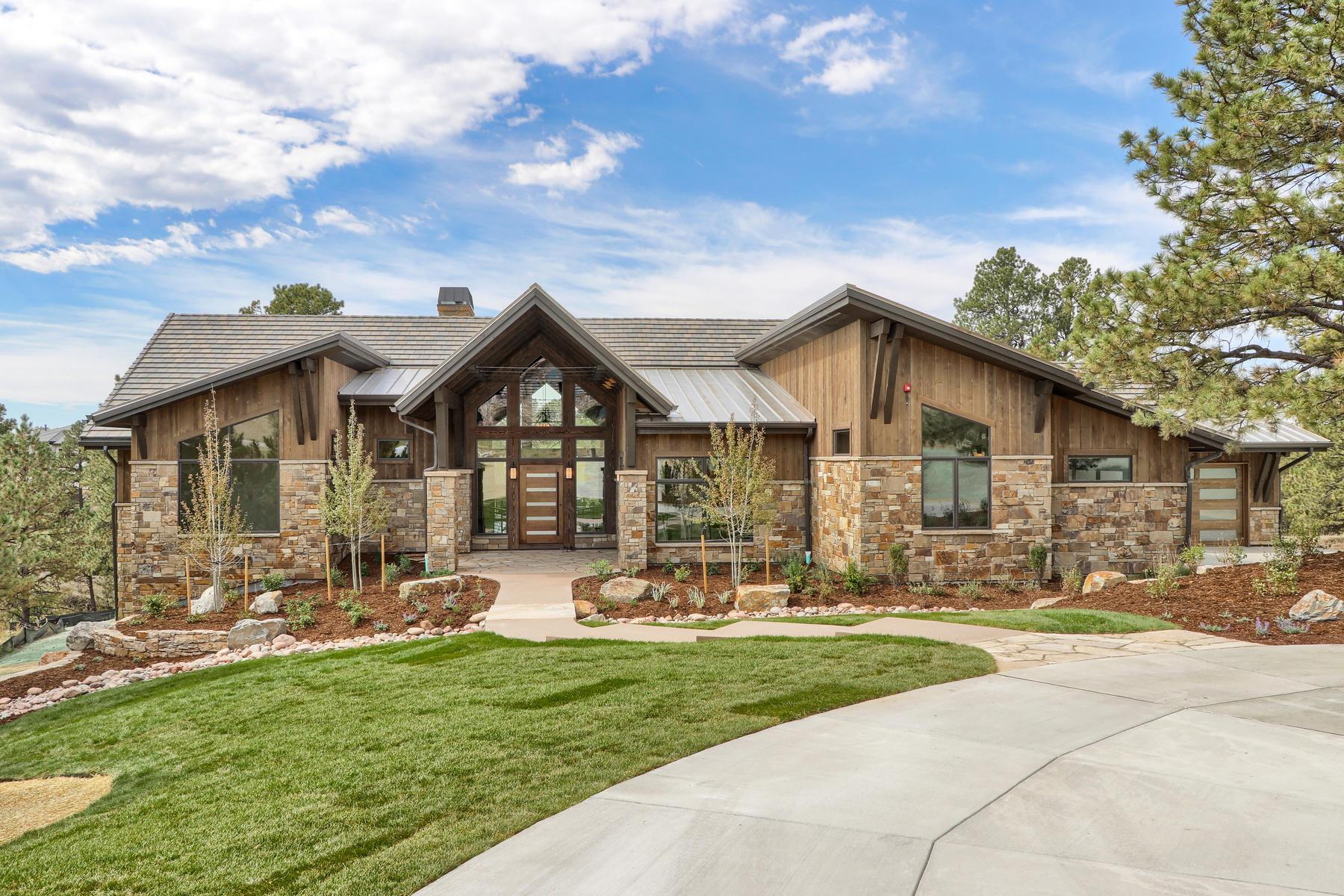 Casa Unifamiliar por un Venta en 8278 Whisperwood Ct 8278 Whisperwood Ct Parker, Colorado 80134 Estados Unidos