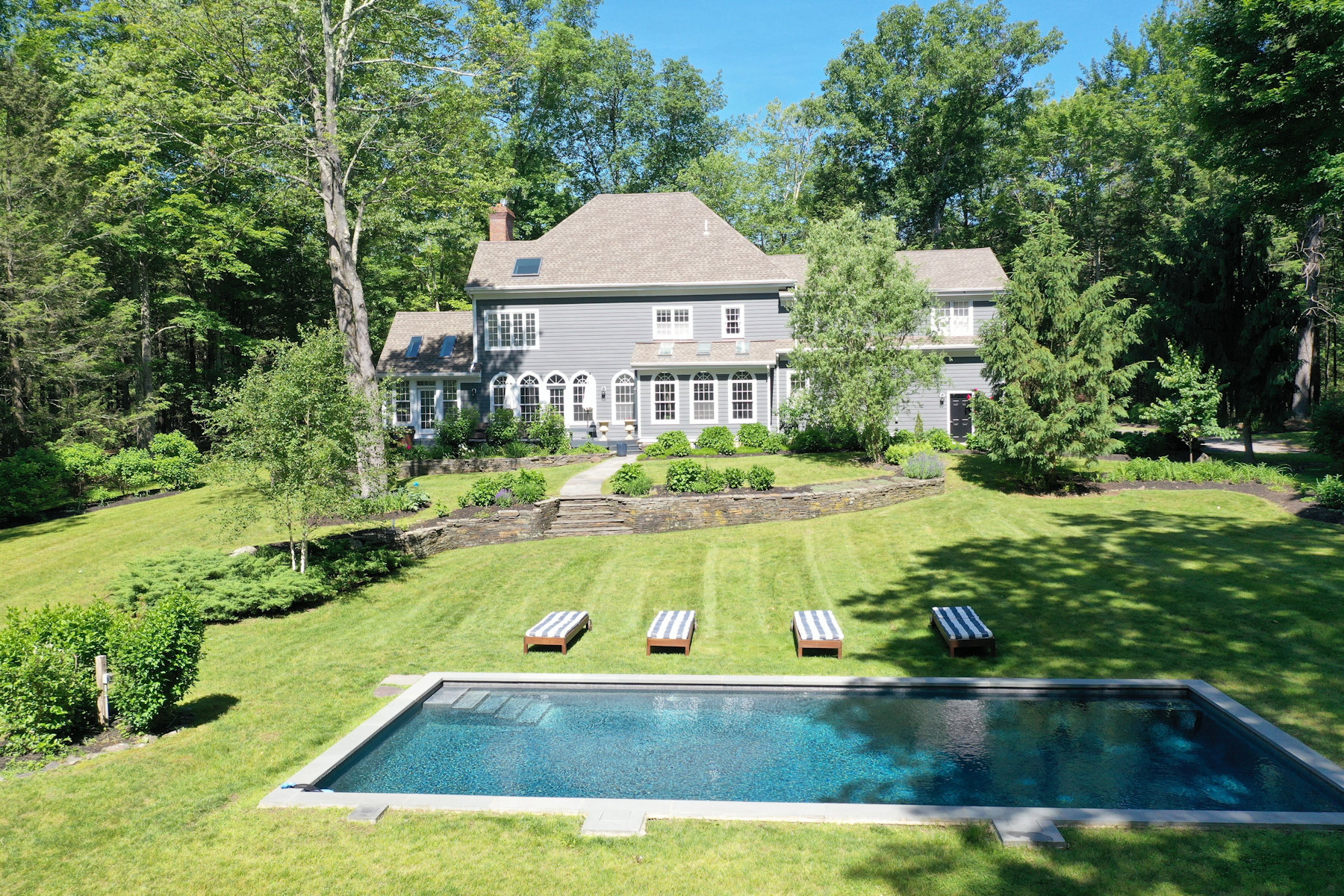 Single Family Homes for Active at Elegant Renovated Lakefront Colonial 37 Blue Heron Drive Marbletown, New York 12401 United States