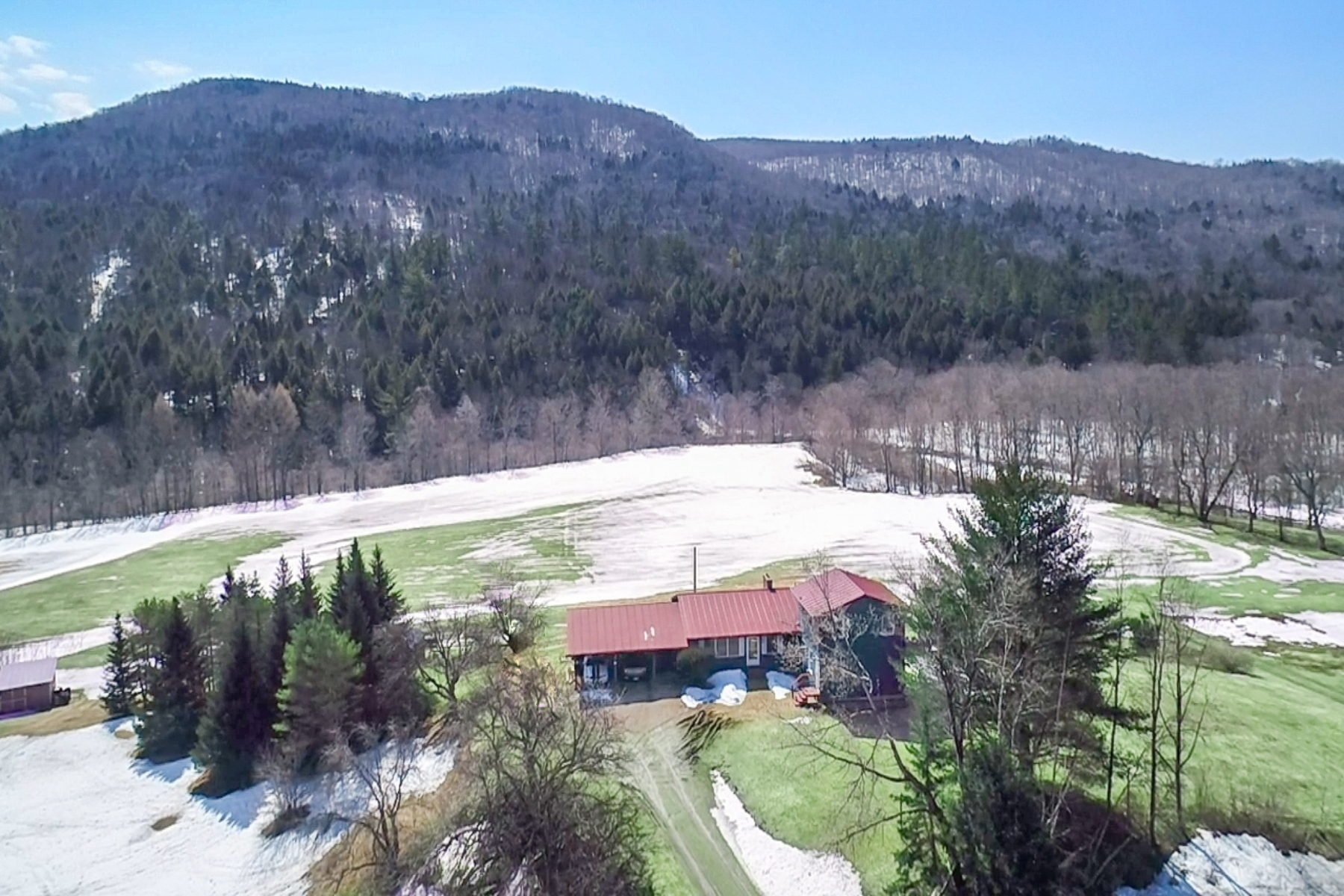 Single Family Home for Sale at Three Bedroom Modified Ranch in Rochester 1319 Brandon Mountain Rd Rochester, Vermont 05767 United States