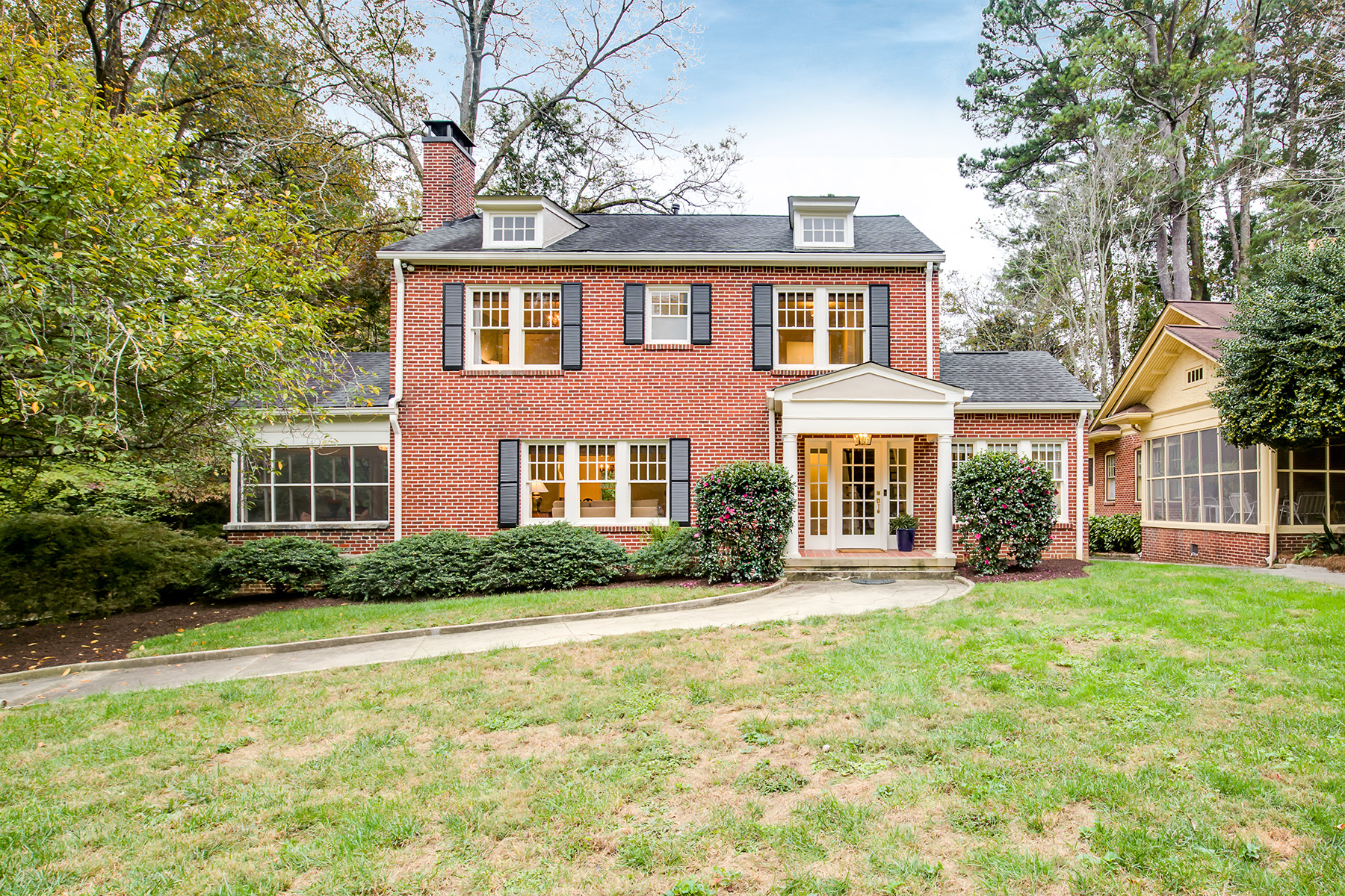 Single Family Home for Sale at The Quintessential Druid Hills Home on Highly Desirable Harvard Road 1401 Harvard Road NE Atlanta, Georgia 30306 United States