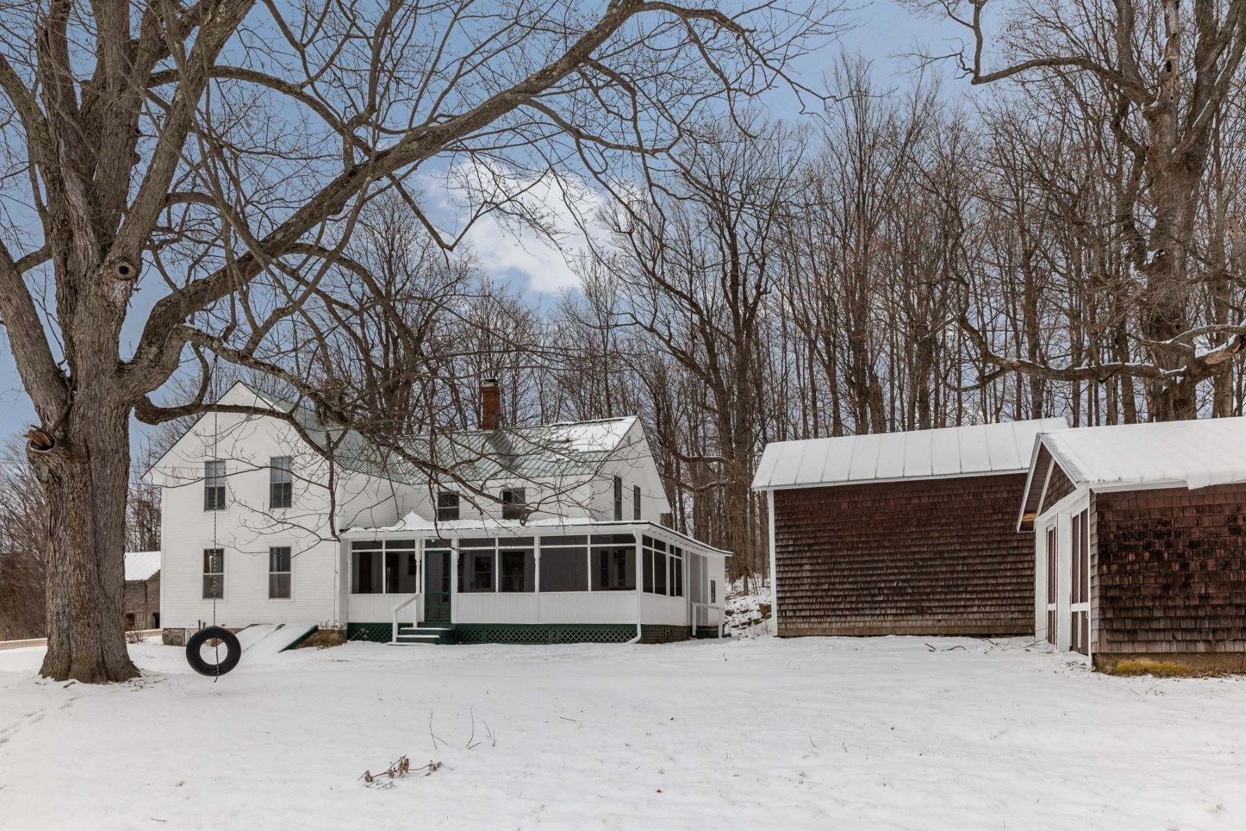 Single Family Homes for Sale at Farmhouse Revival 26 Prindle Rd Charlotte, Vermont 05445 United States