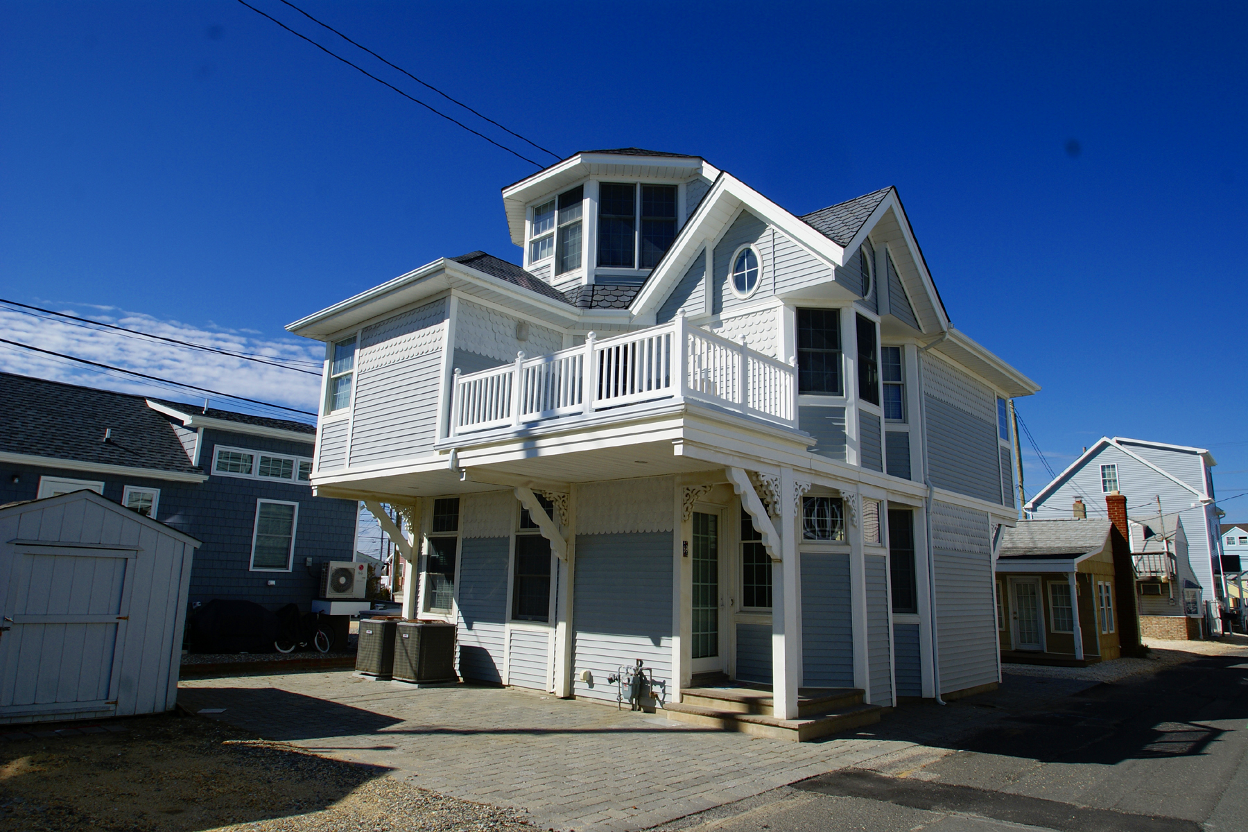 Single Family Home for Sale at Immaculate Ocean Block Shore Colonial 69 Beach Way, Lavallette, New Jersey 08735 United States