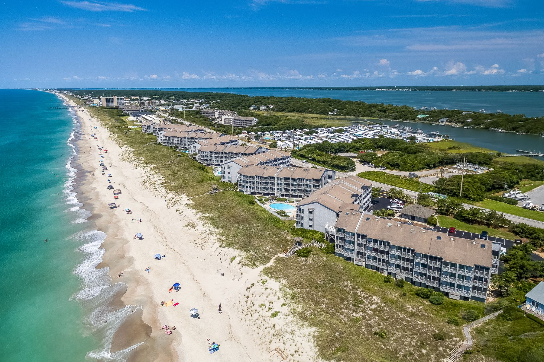 Condominiums for Active at Second Floor Condo with Oceanfront Views 2111 W Fort Macon Road Unit 214 Atlantic Beach, North Carolina 28512 United States
