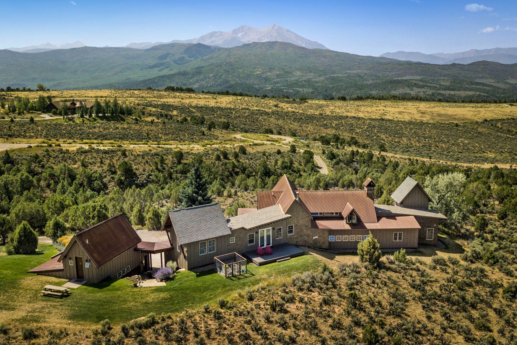 Casa Unifamiliar por un Venta en 31wind RIver Road 31 Wind River Road Carbondale, Colorado 81623 Estados Unidos