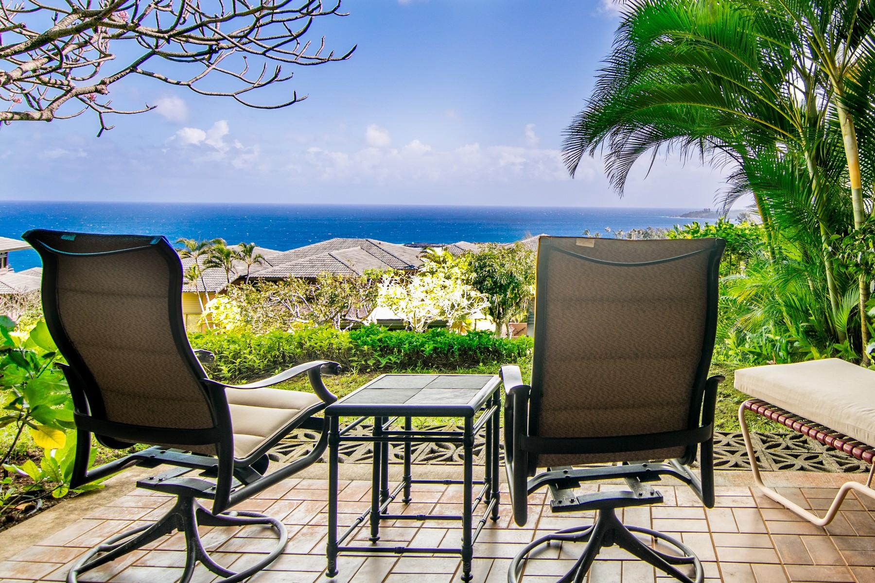 Appartement en copropriété pour l Vente à Ocean View Villa In Kapalua, Maui 100 Ridge Road, Kapalua Ridge Villas 1513-15 Kapalua, Hawaii, 96761 États-Unis