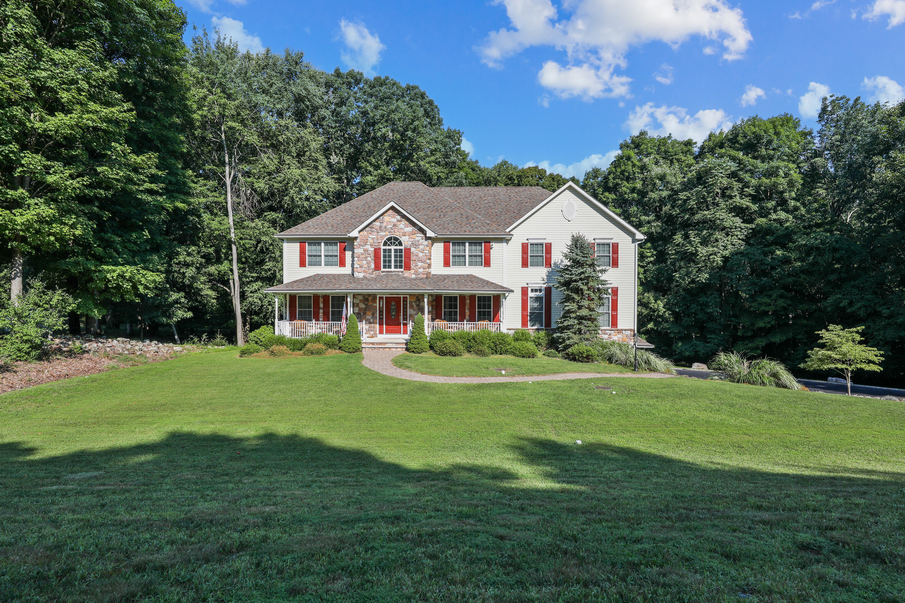 Single Family Homes for Sale at Extravagant Colonial on 5.6 Acres 8 Liberty Trail, Andover Township, New Jersey 07860 United States