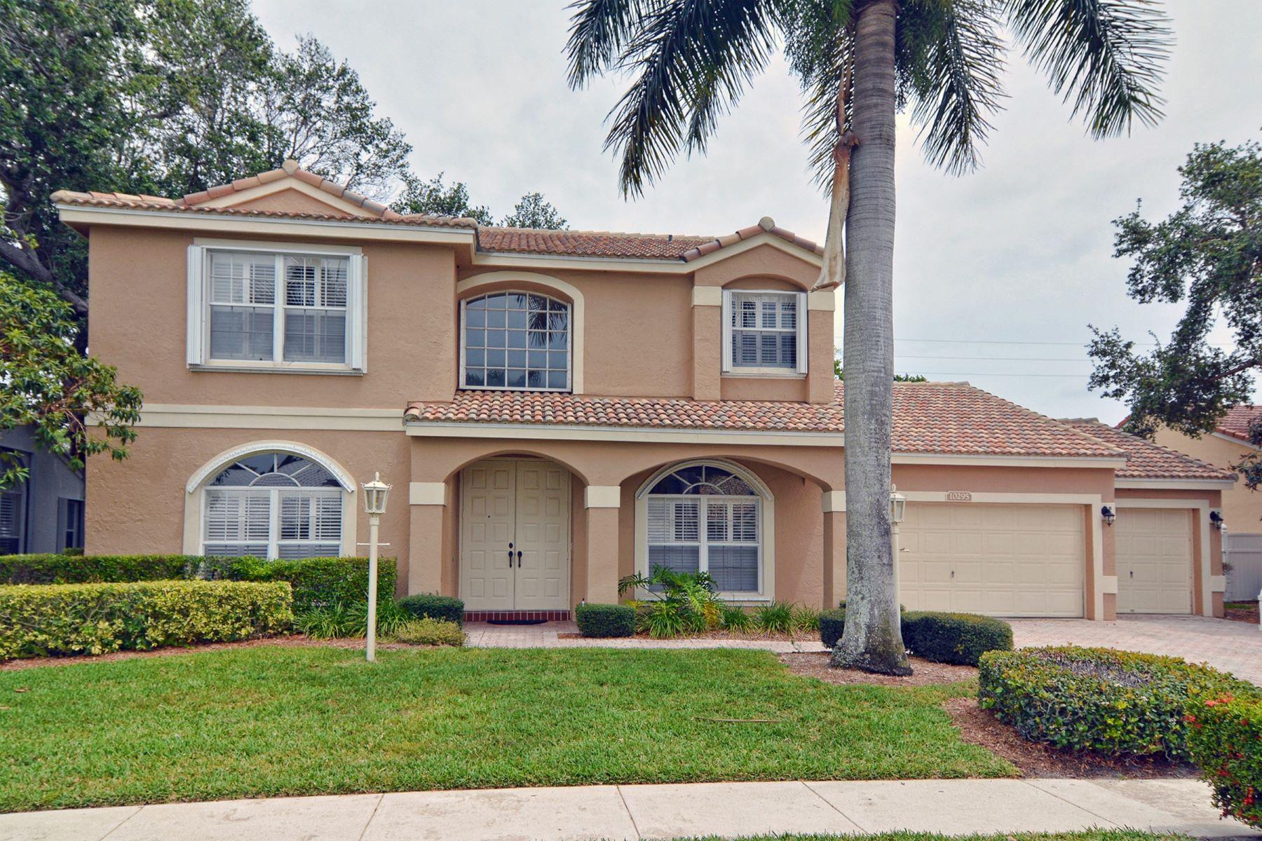 独户住宅 为 销售 在 10295 Allamanda Boulevard Siena Oaks, 棕榈滩花园, 佛罗里达州, 33410 美国