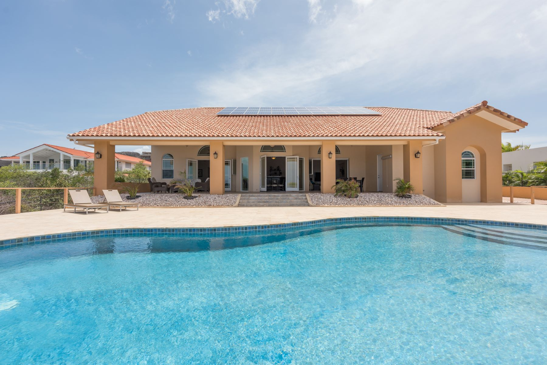 Single Family Home for Sale at Rif St. Marie Oceanfront Villa 307 Willemstad, Curacao