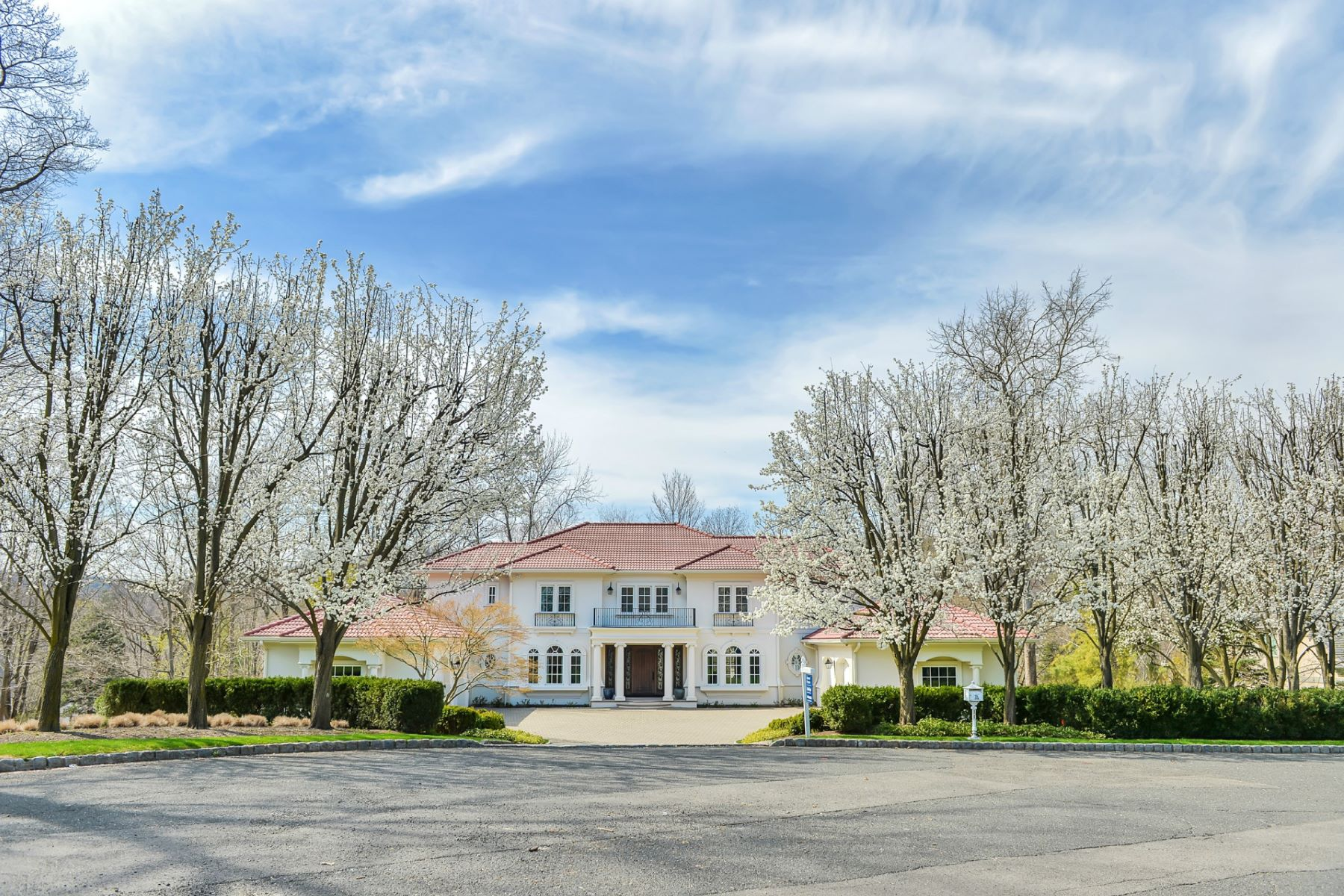 Single Family Home for Sale at Magnificent Burnheade Estate 110 Gallowae Watchung, New Jersey 07069 United States