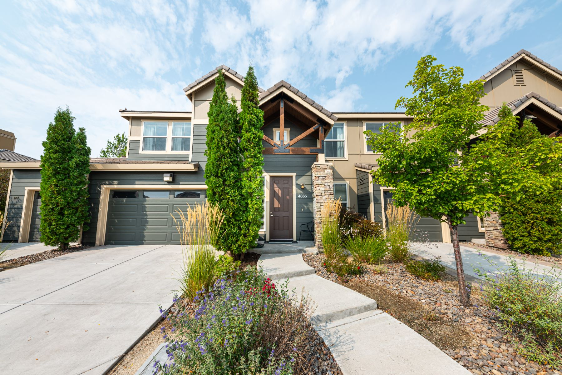Condominiums for Active at Beautifully Maintained 4865 Bougainvillea Circle Sparks, Nevada 89436 United States