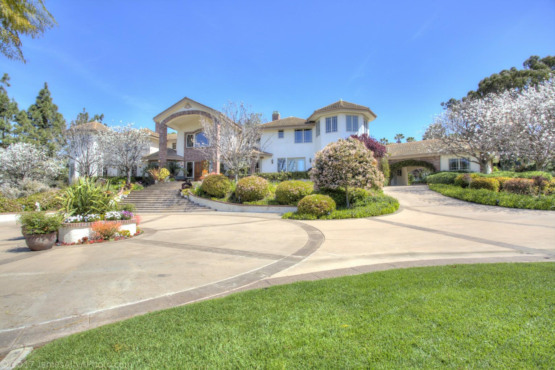 Vivienda unifamiliar por un Venta en 4141 Stonebridge Rancho Santa Fe, California, 92091 Estados Unidos