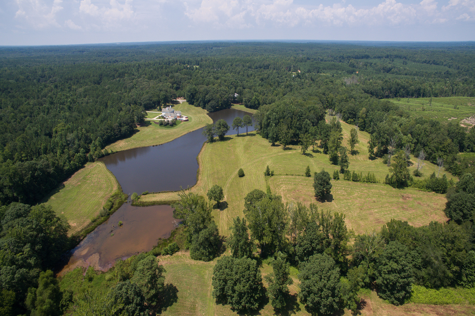 Farm / Ranch / Plantation for Sale at Custom Designed Waterfront Estate 0 Hines Road #L Moreland, Georgia 30259 United States