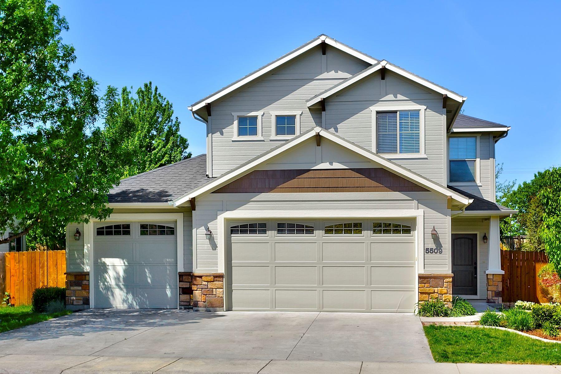 Частный односемейный дом для того Продажа на 5509 Beaham Avenue, Meridian 5509 N Beaham Ave Meridian, Айдахо, 83646 Соединенные Штаты