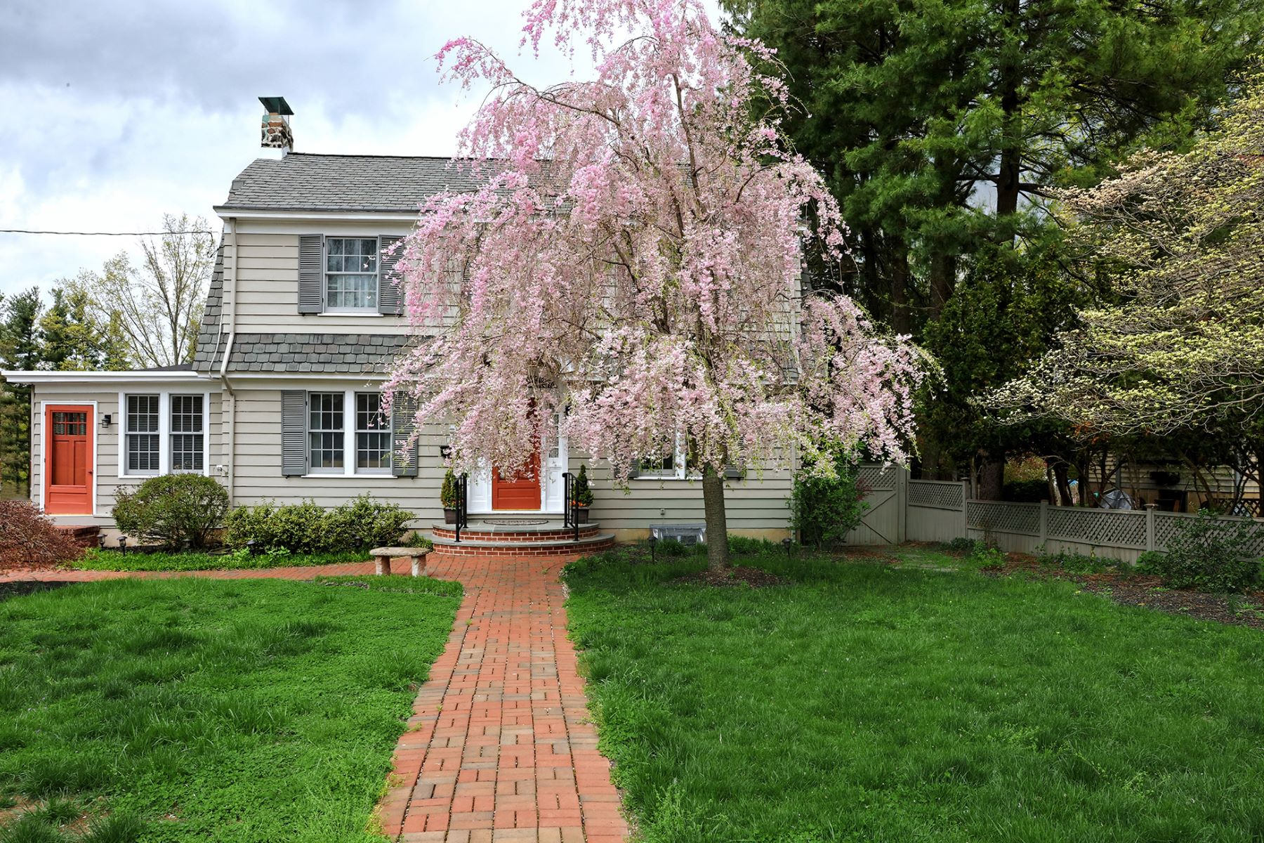 Single Family Home for Sale at 1920's Charm And Many Recent Improvements 113 King George Road, Pennington, New Jersey 08534 United States