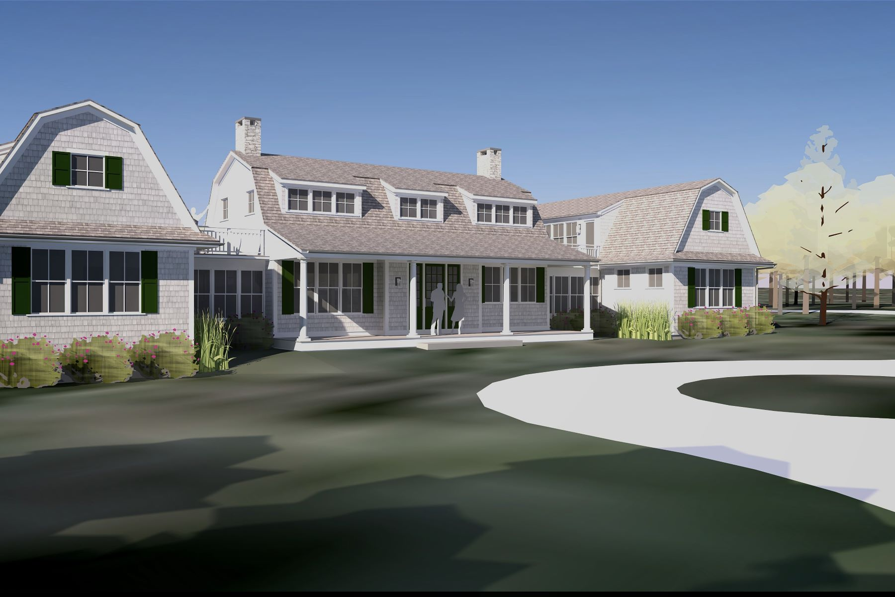 Maison unifamiliale pour l Vente à Waterview Farm Neck Home 27 Brush Island Lane Oak Bluffs, Massachusetts, 02557 États-Unis
