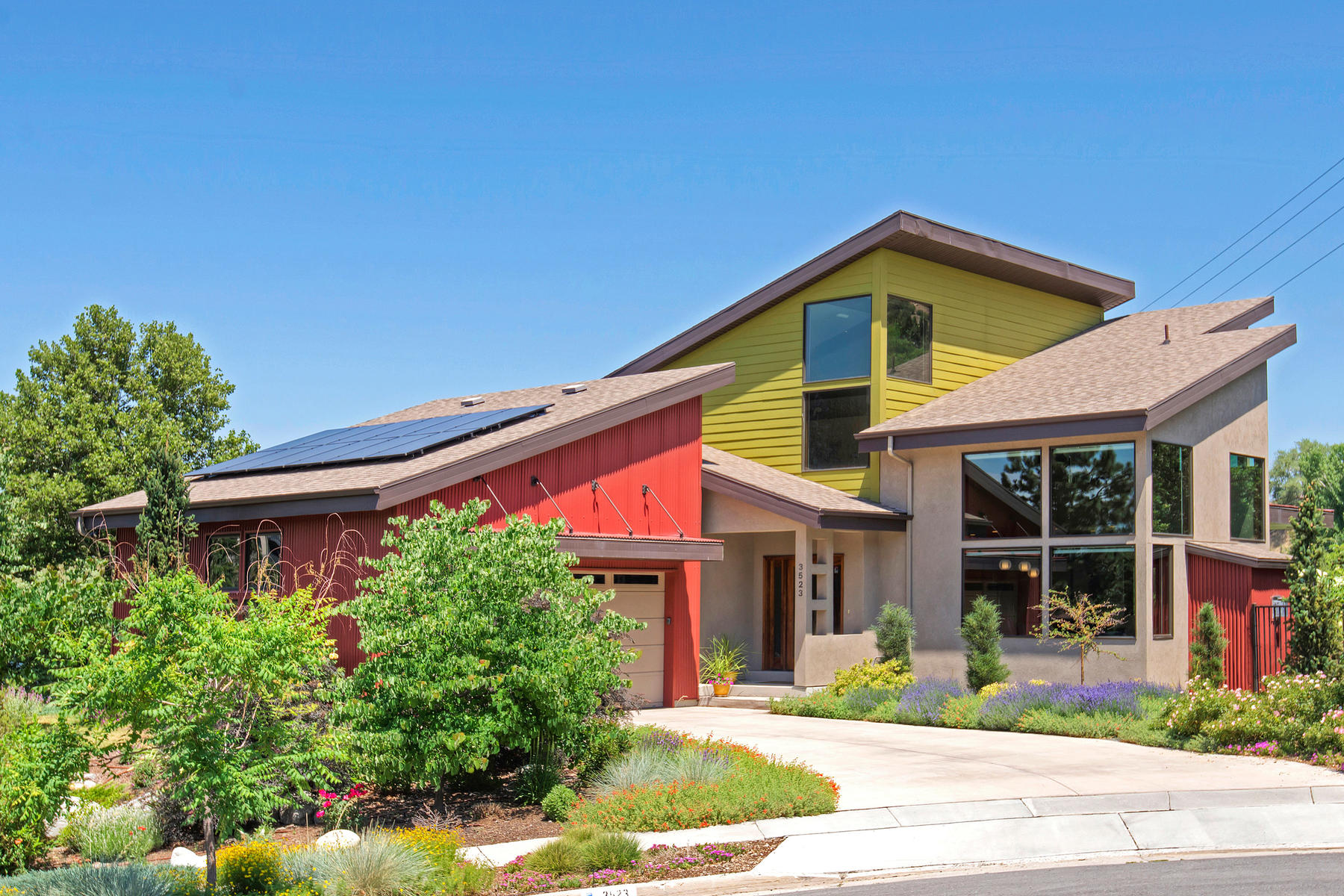 Single Family Home for Sale at Views. Privacy. Outdoor Living. Location. Solar Efficiency. 3523 East 8740 Sourh Cottonwood Heights, Utah 84121 United States
