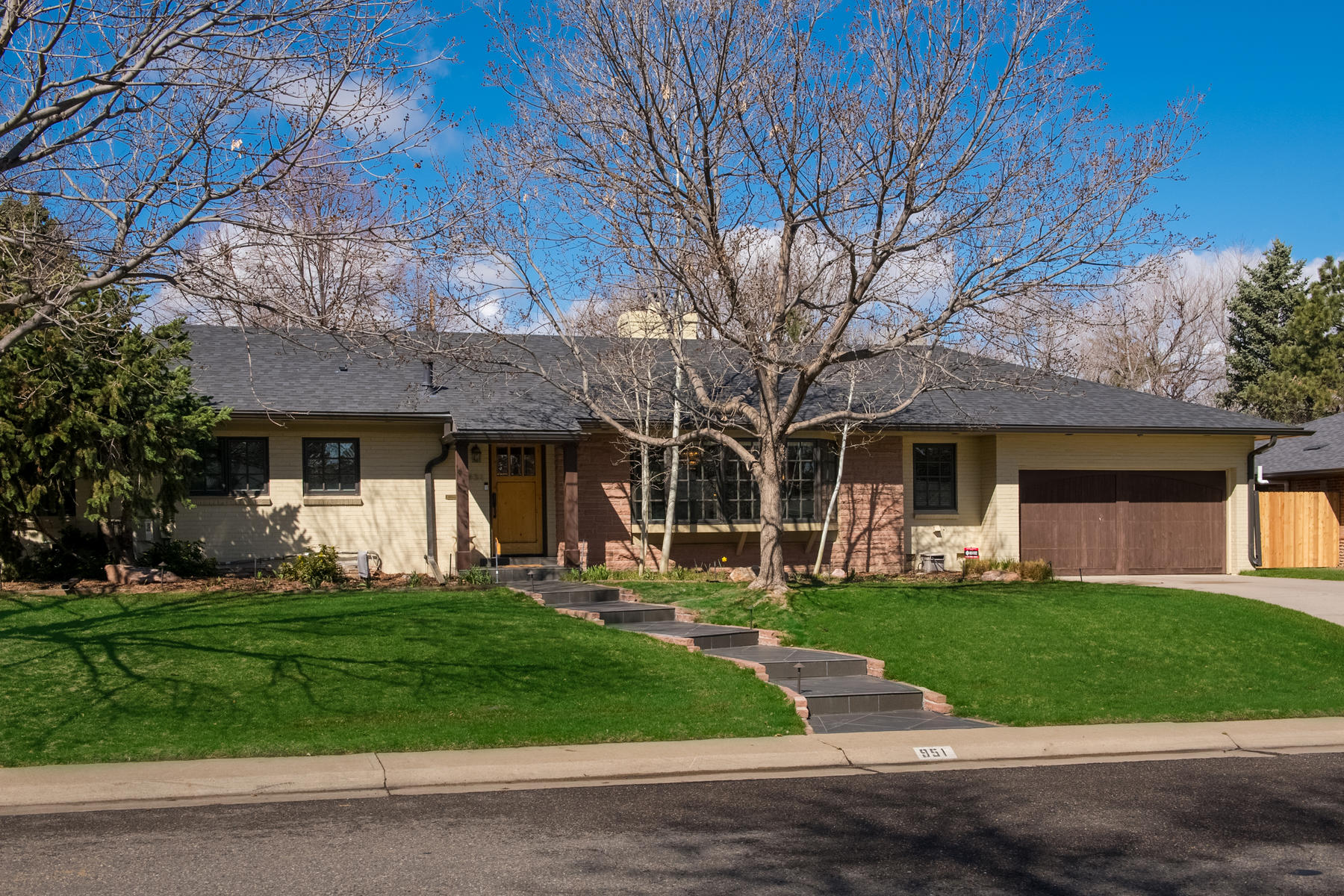 Single Family Home for Active at Fabulous Brick Ranch In The Heart Of Belcaro 951 South Garfield Street Denver, Colorado 80209 United States