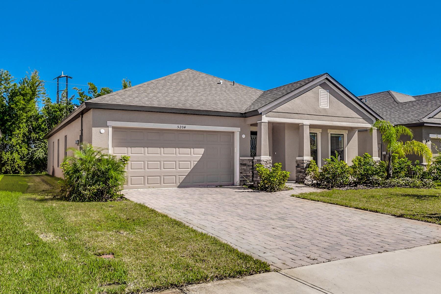 Casa Unifamiliar por un Venta en 5204 Brilliance Circle 5204 Brilliance Circle Cocoa, Florida 32926 Estados Unidos