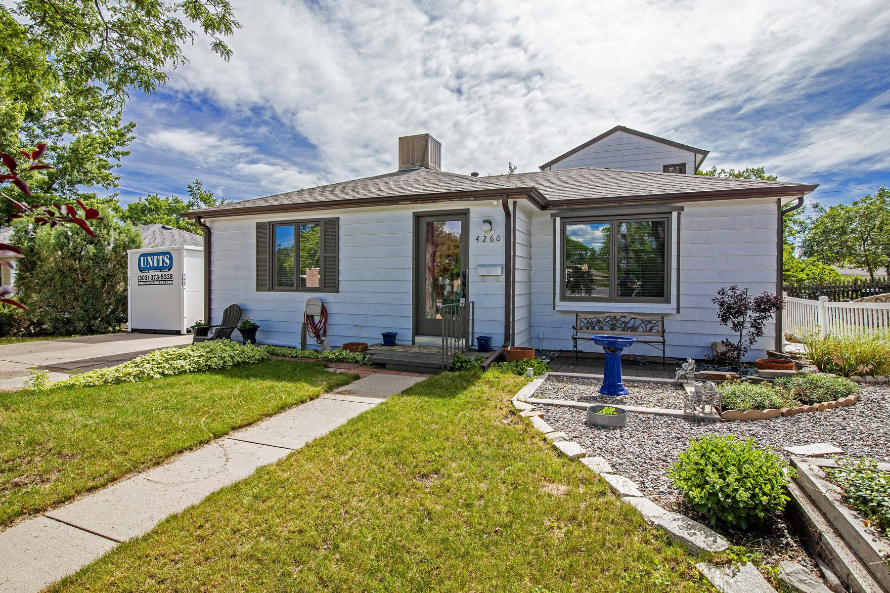 Single Family Homes for Sale at Wow!! Location & Tons of Square Footage 4260 Harlan Street, Wheat Ridge, Colorado 80022 United States
