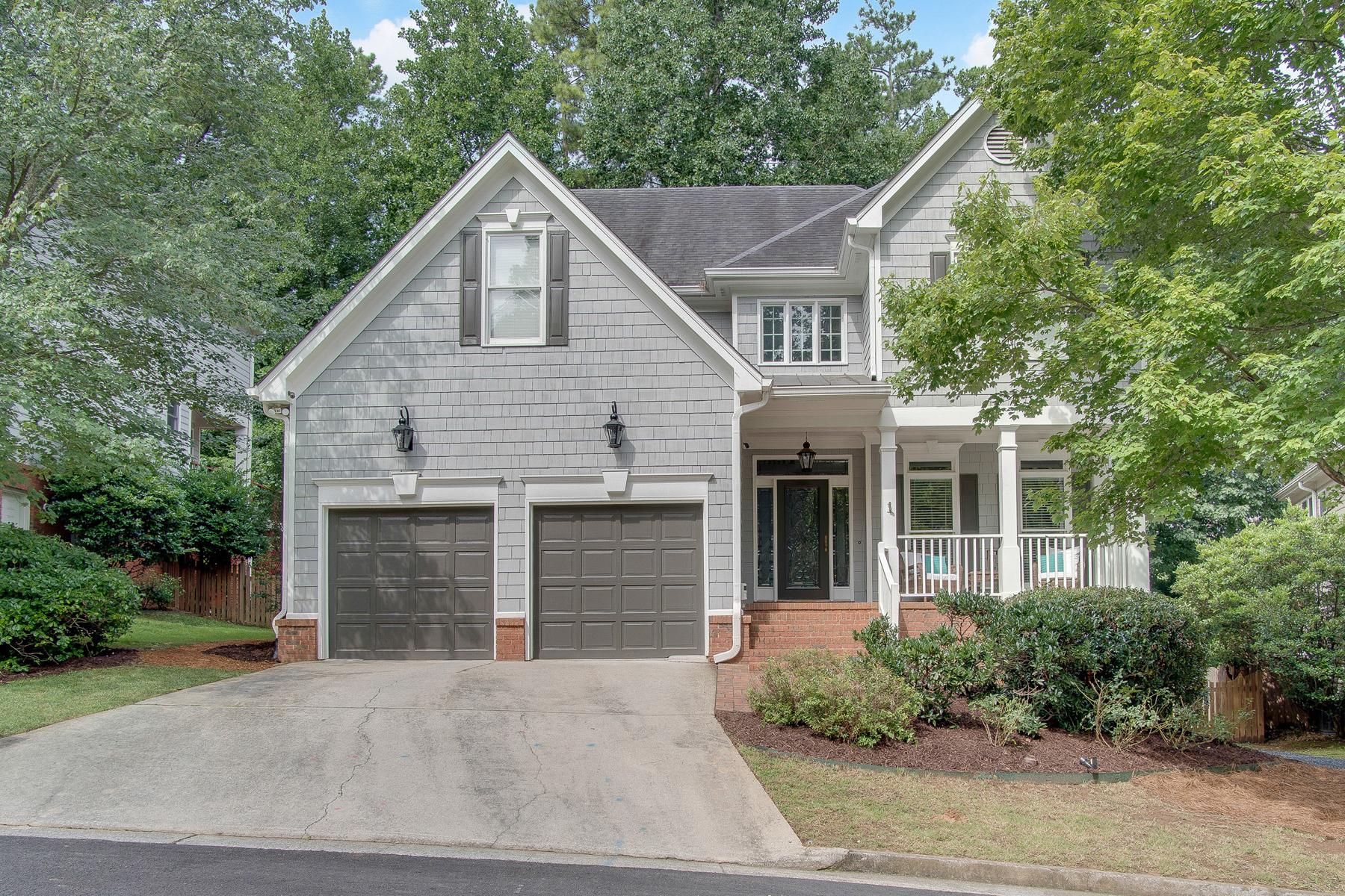 Maison unifamiliale pour l Vente à Ideal Cul-de-sac Location For Light-Filled Home In Brookhaven Heights 2238 Lenox Ridge Court Brookhaven, Georgia, 30319 États-Unis